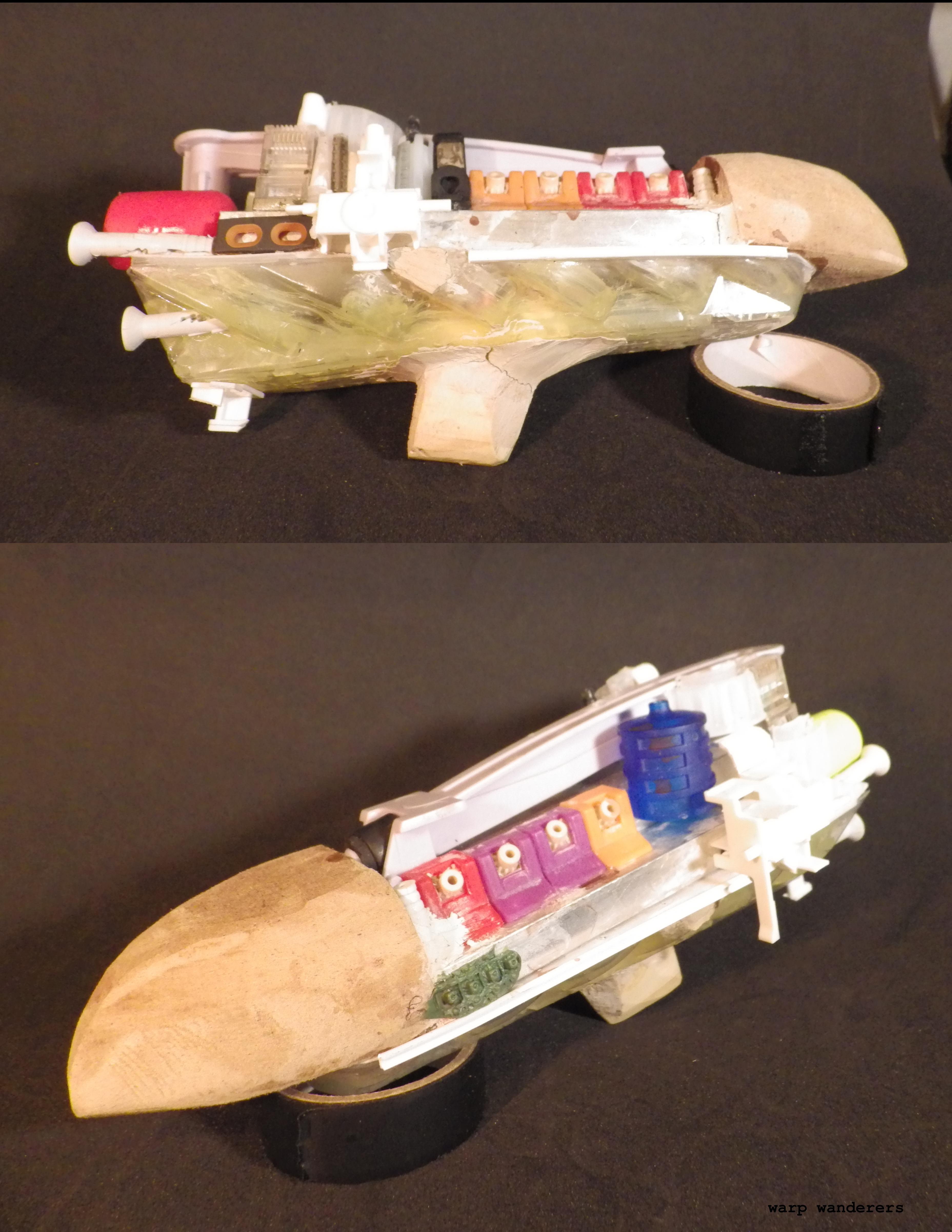 Scratch Build, Spaceship, Starship