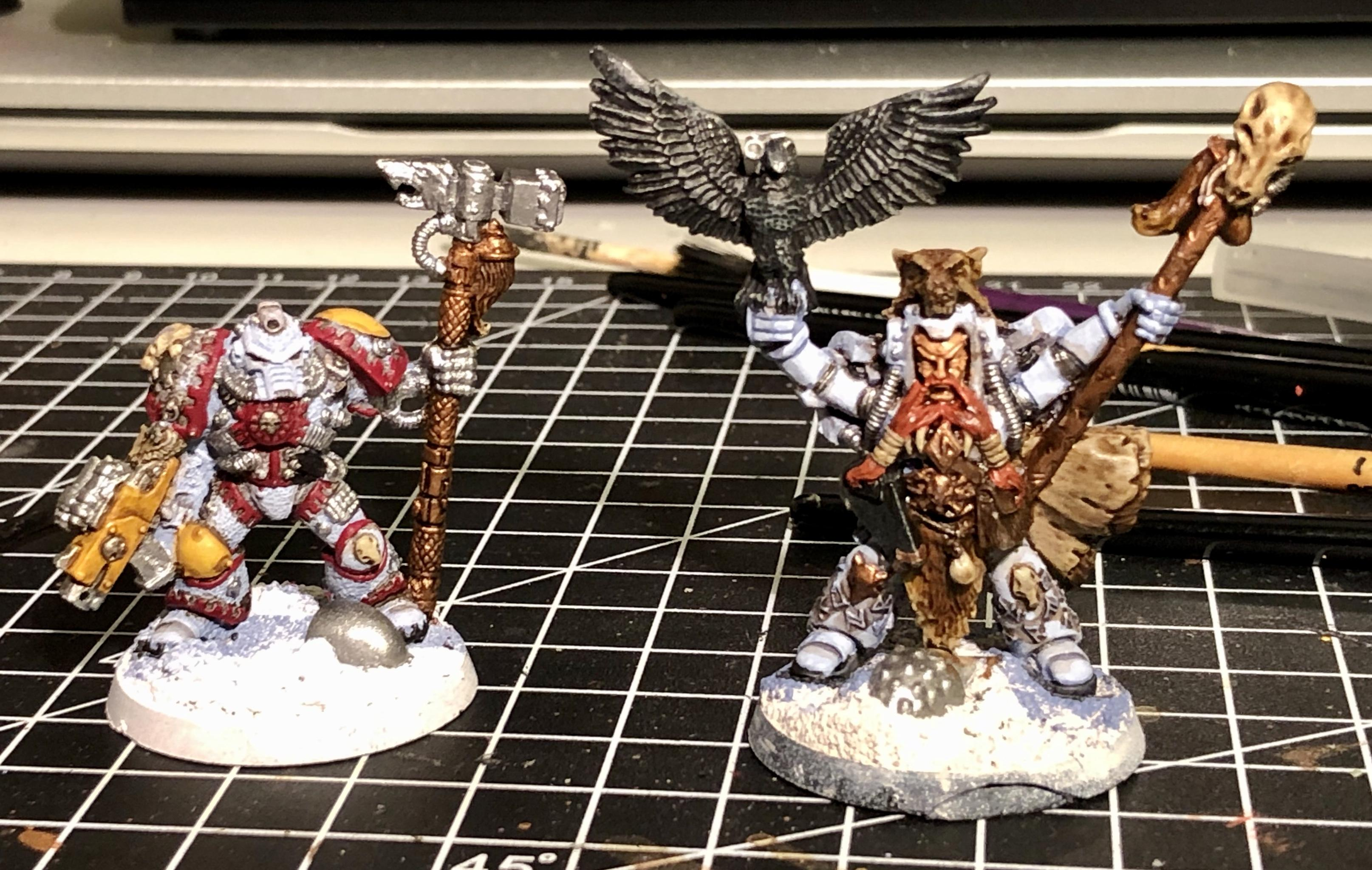2nd Edition, Iron Priest, Njal Stormcaller, Space Wolves, Warhammer 40,000