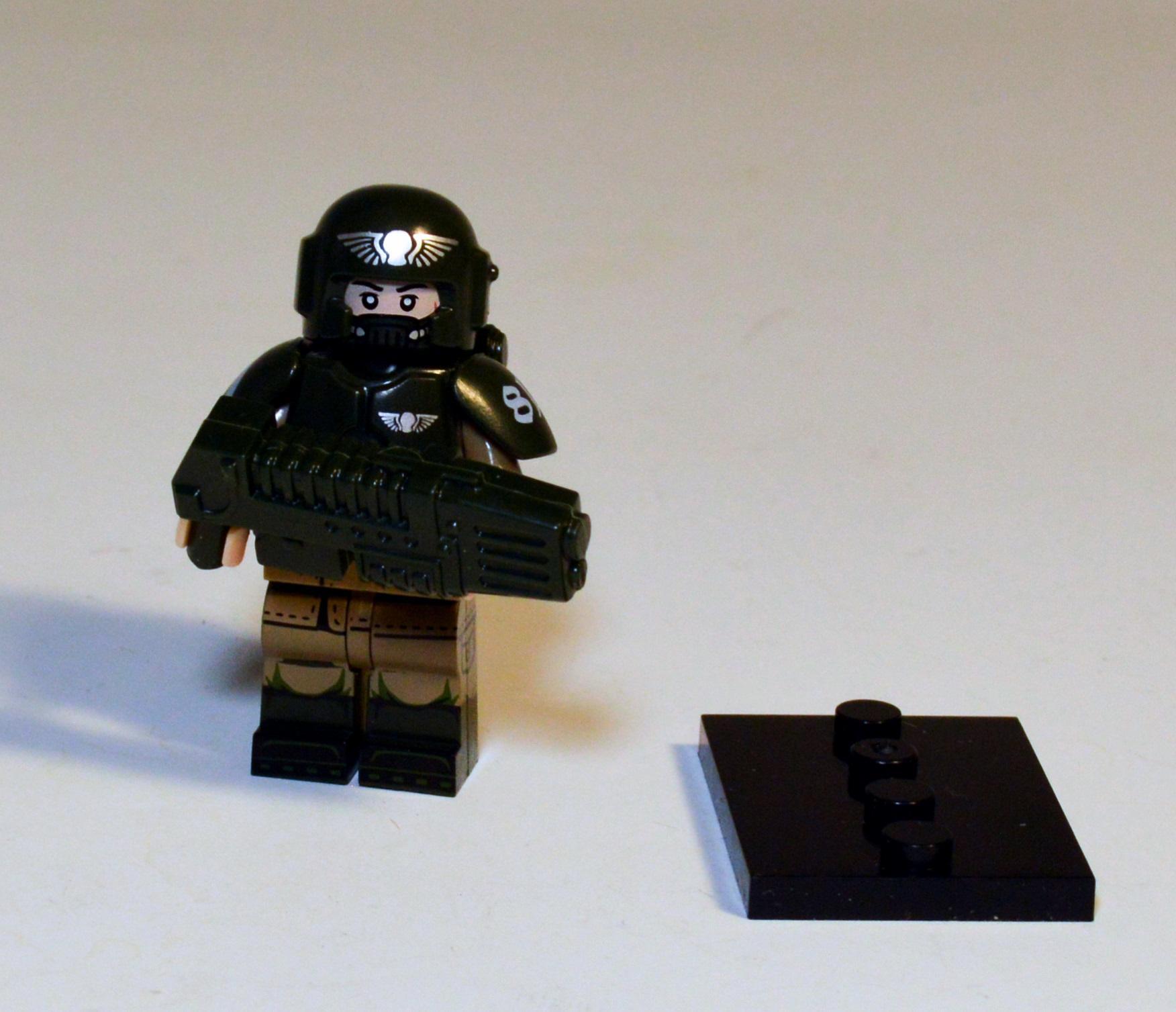 Astra Militarum, Cadians, Imperial Guard, Lego