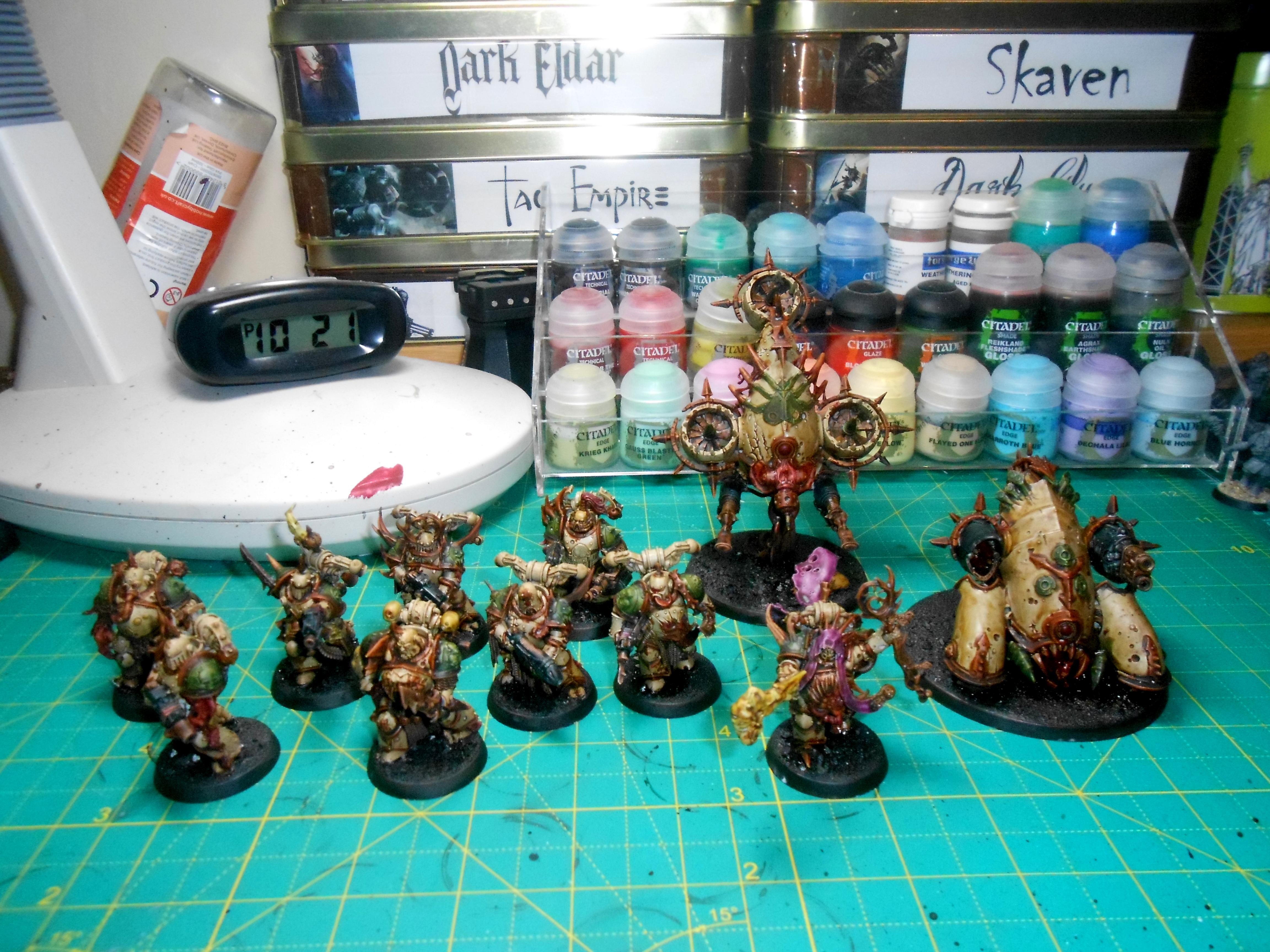 Contrast, Death Guard, Nurgle, Work In Progress