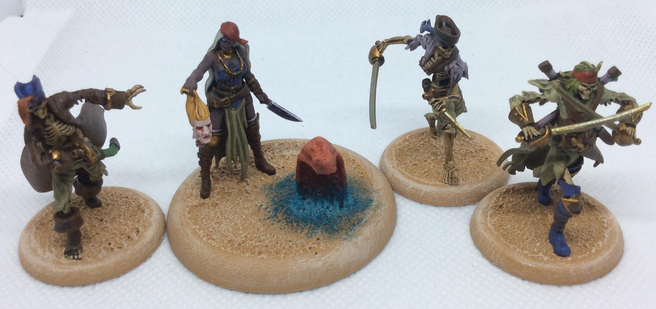 Malifaux, Pirate, Resurrectionists, Skeletons, Undead, Wyrd