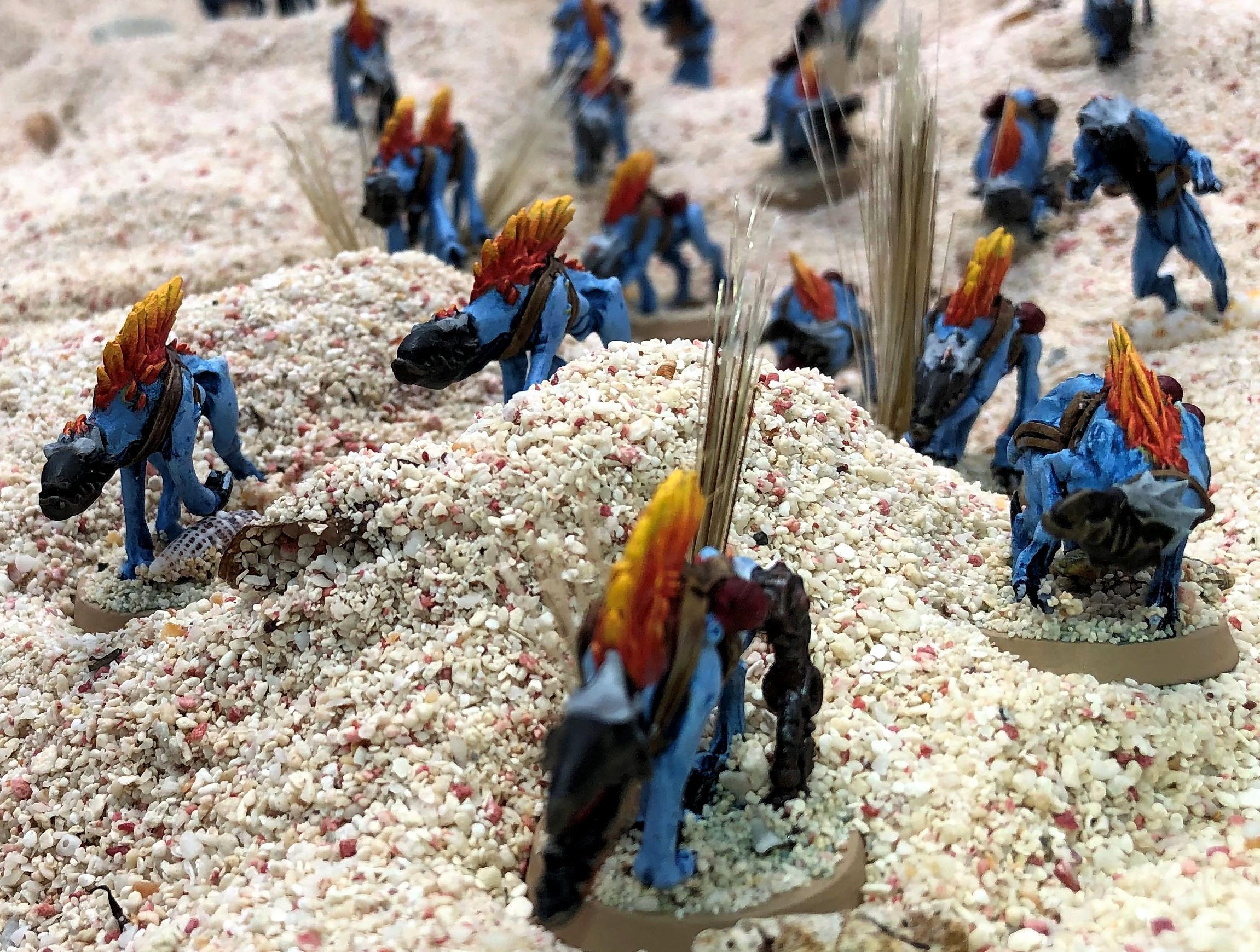 Battlefleet Gothic, Cavalry, Greater Knarloc, Knarloc, Kroot, Mercenary, Xenos