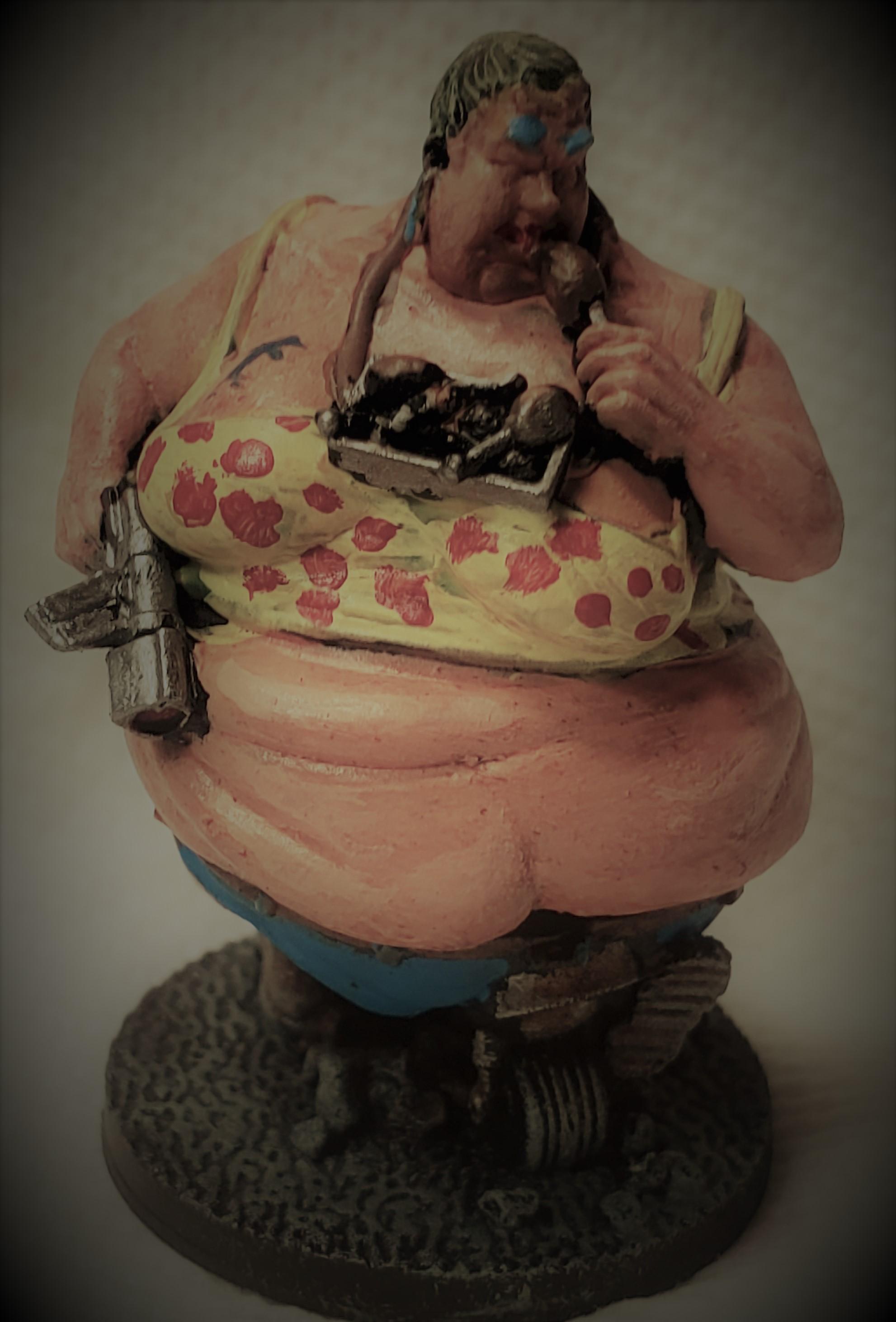 Fatties, Judge Dredd