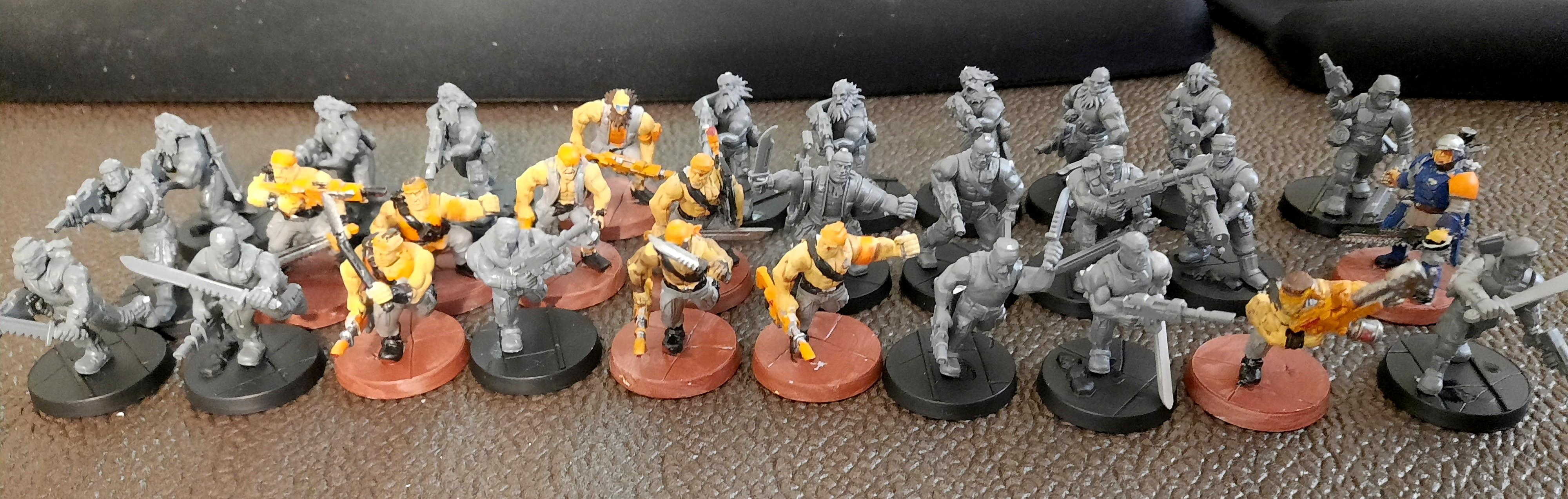 Adeptus Arbites, Catachan, Imperial Guard, Penal Legion