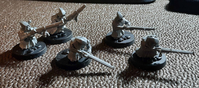 Penal Legion, Ratling, Skaven, Snipers