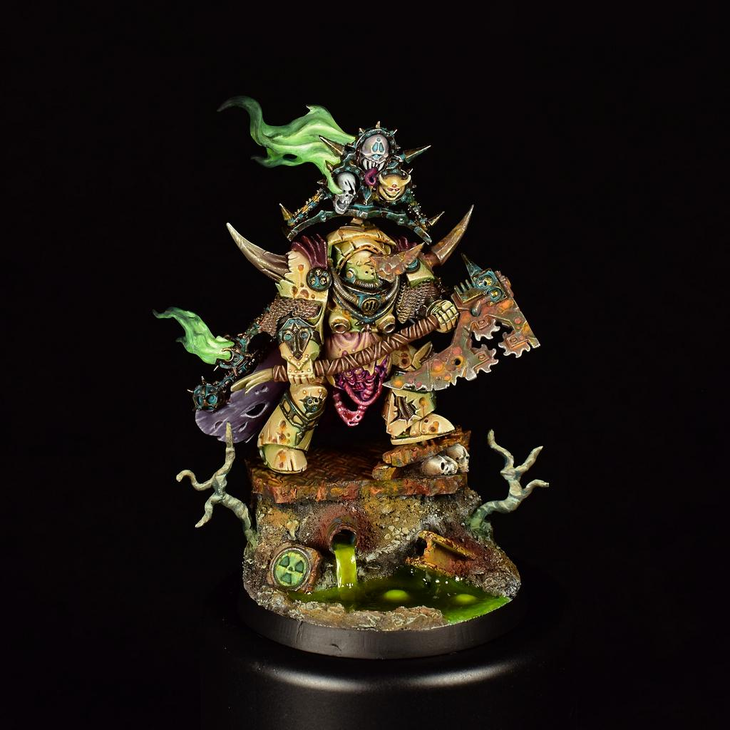 Chaos, Death Guard, Lord Of Contagion, Nurgle