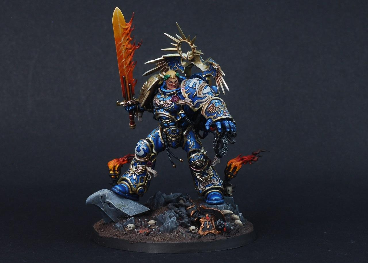 Guilliman, Space Marines, Ultra Marines, Warhammer 40,000