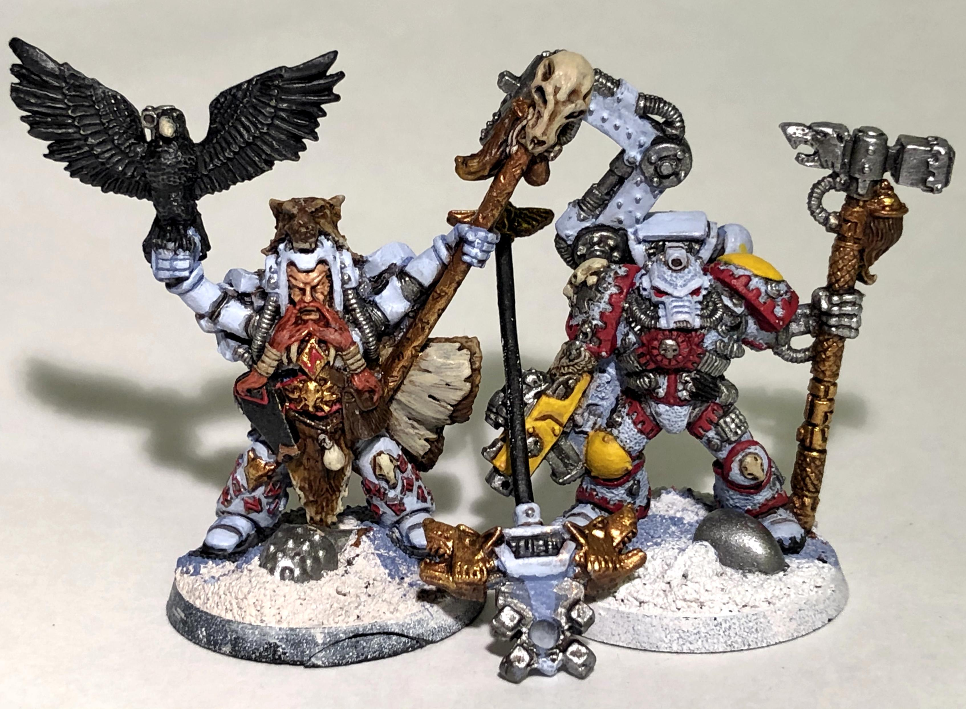 2nd Edition, Iron Priest, Njal Stormcaller, Space Marines, Space Wolves, Warhammer 40,000