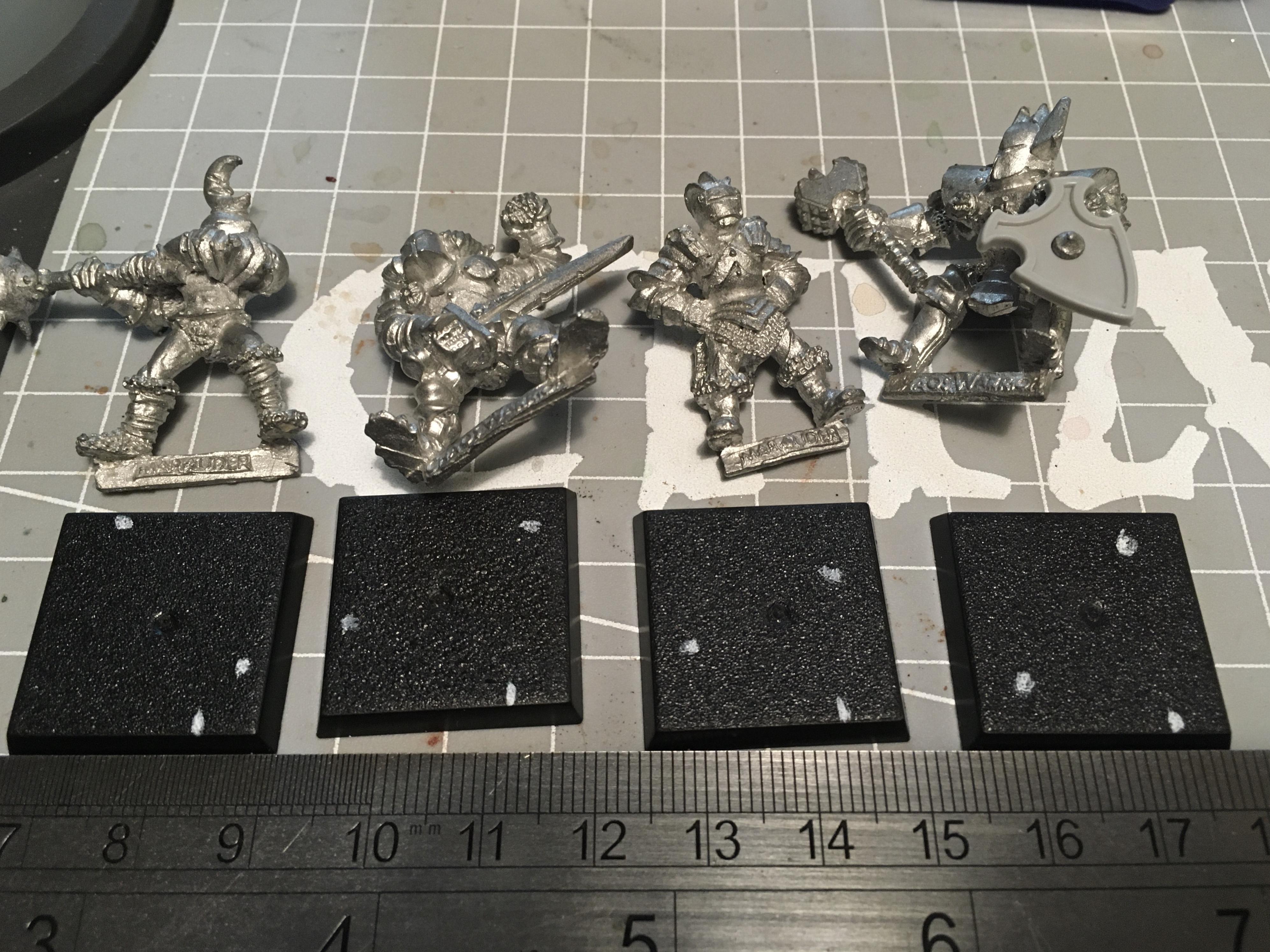 Base, Chaos, Chaos Marauder, Chaos Warrior, Square, Work In Progress