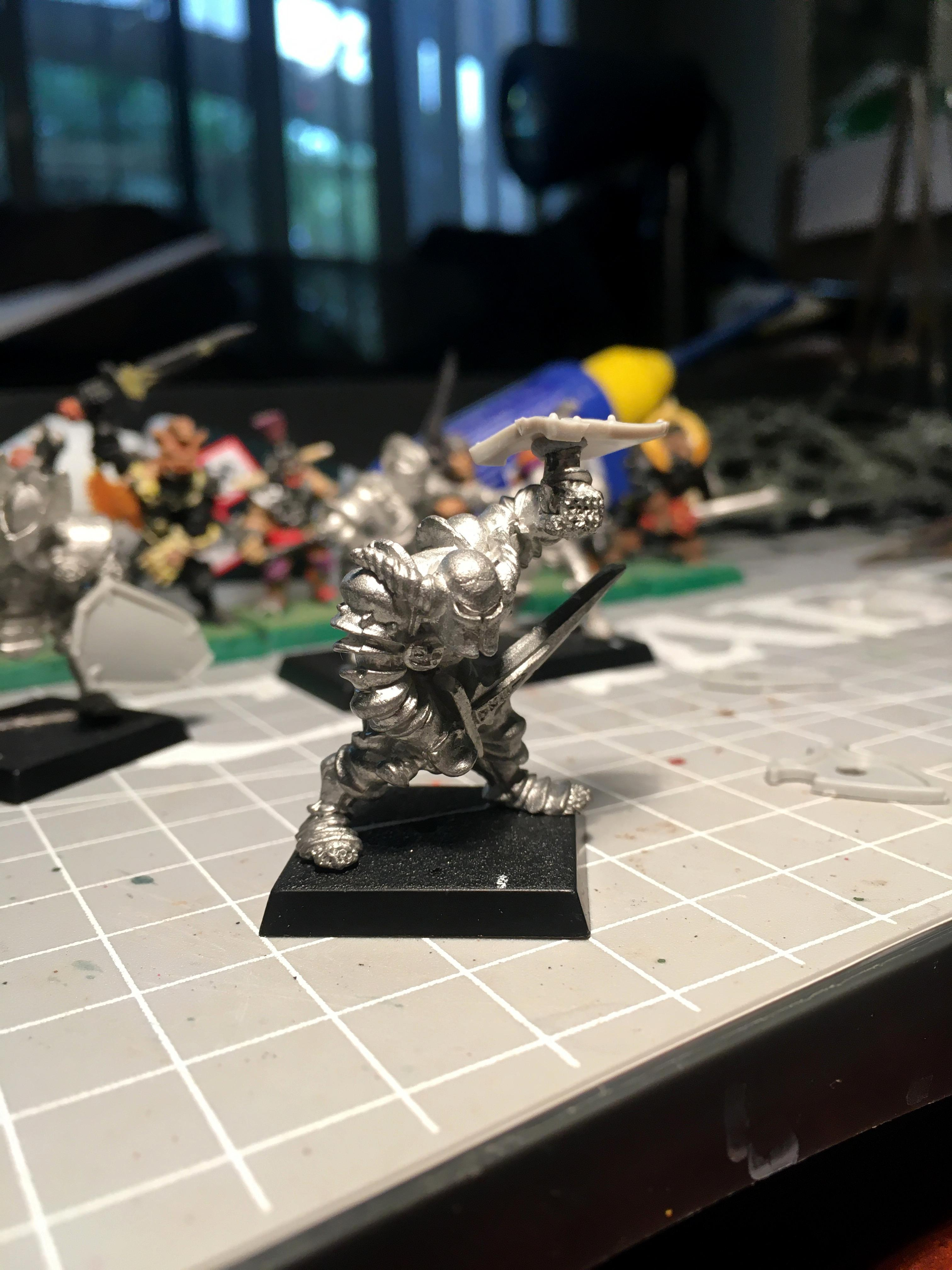 Chaos, Chaos Warrior, Gladstone The Large, Work In Progress