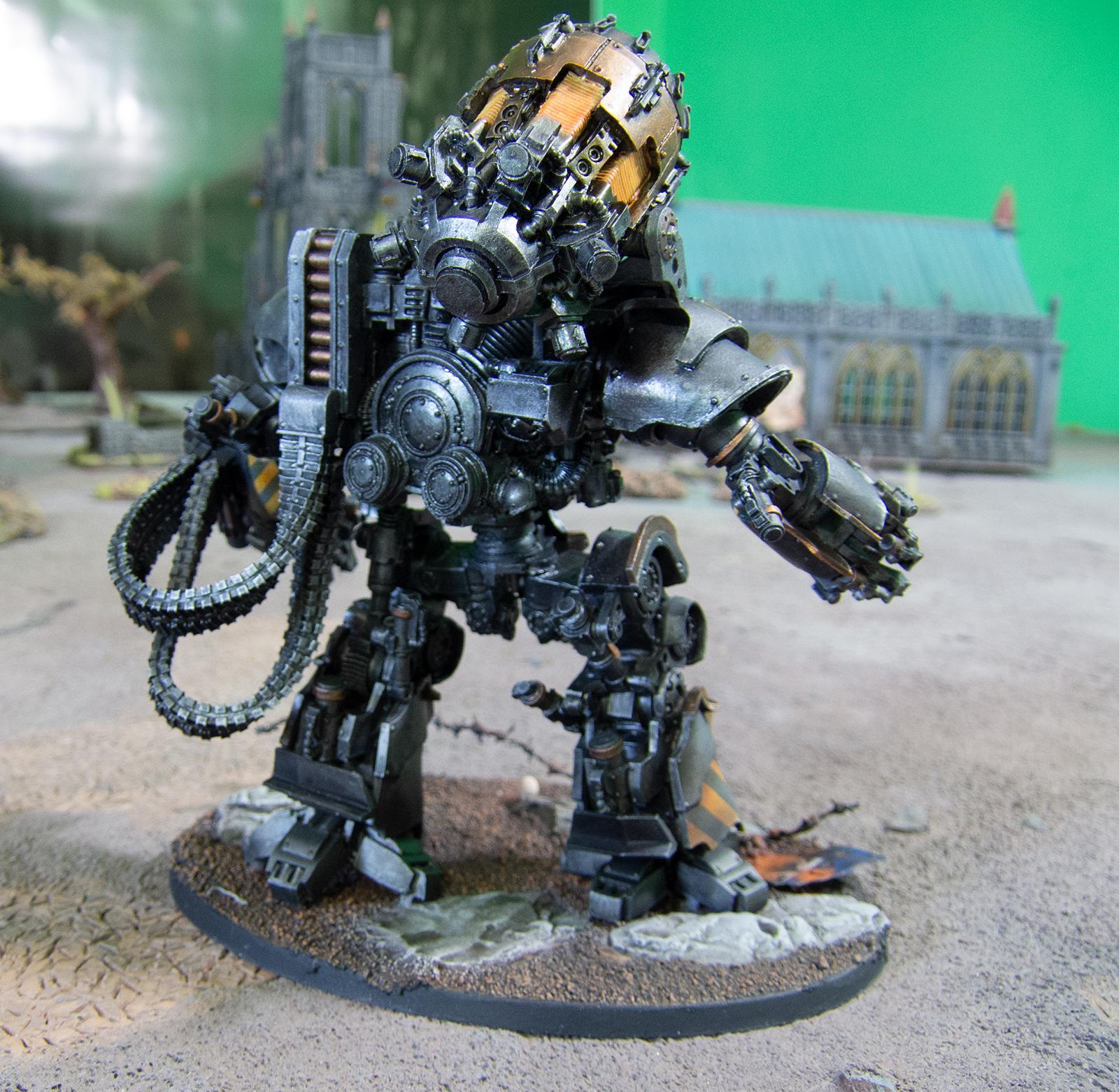 Automata, Iron Warriors, Mechanicum, Siege, Thanatar