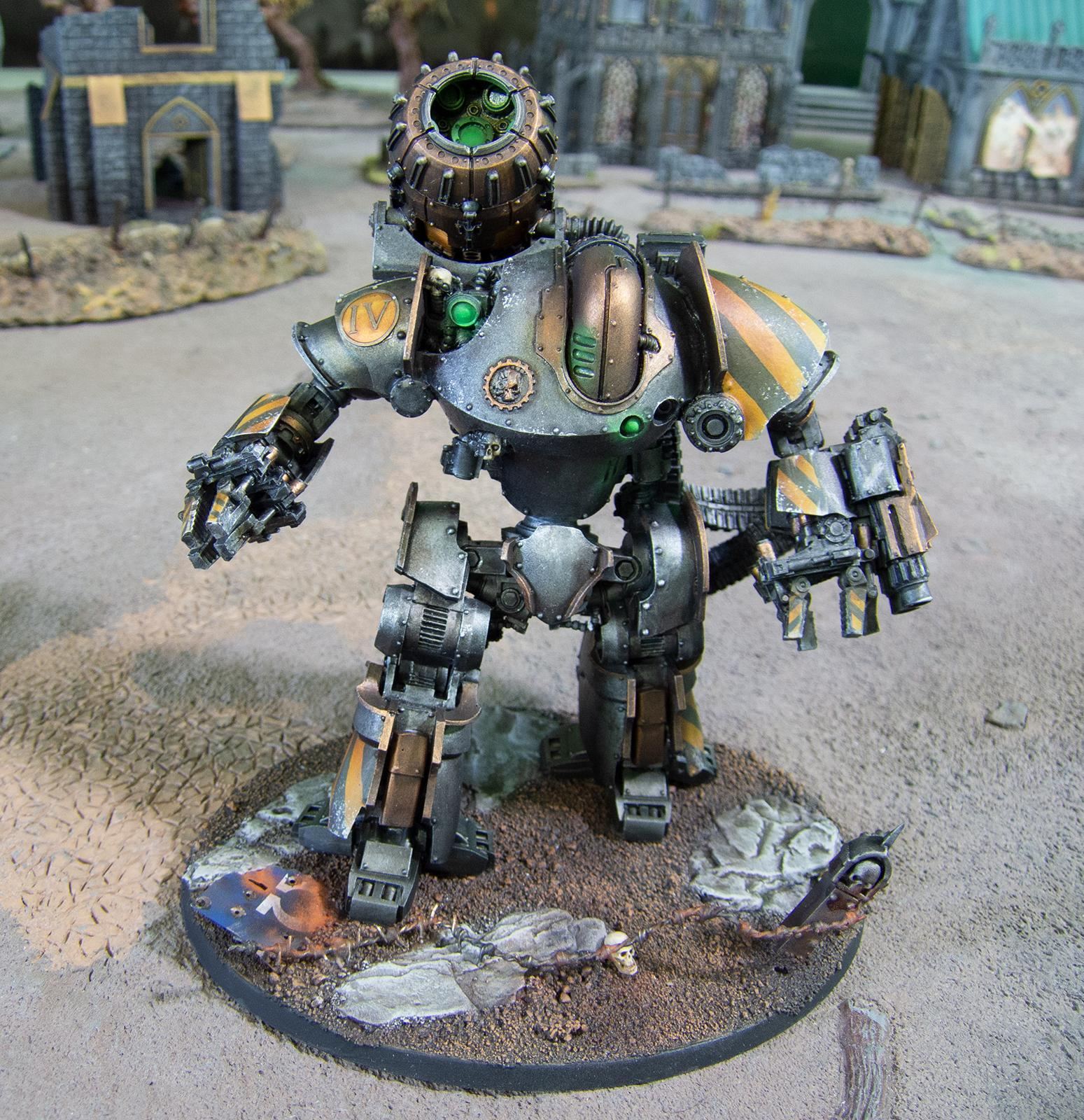 Automata, Iron Warriors, Mechanicum, Siege, Thanatar