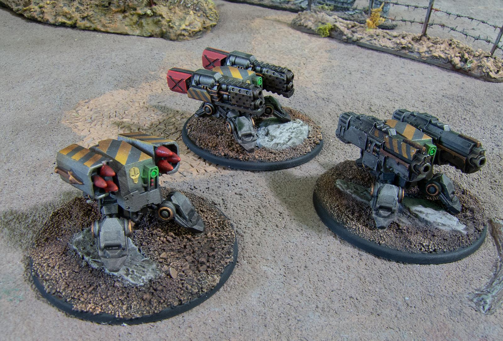 3d Printing, Heavy Weapons Team, Iron Warriors, Puppetswar, Traitor Guard