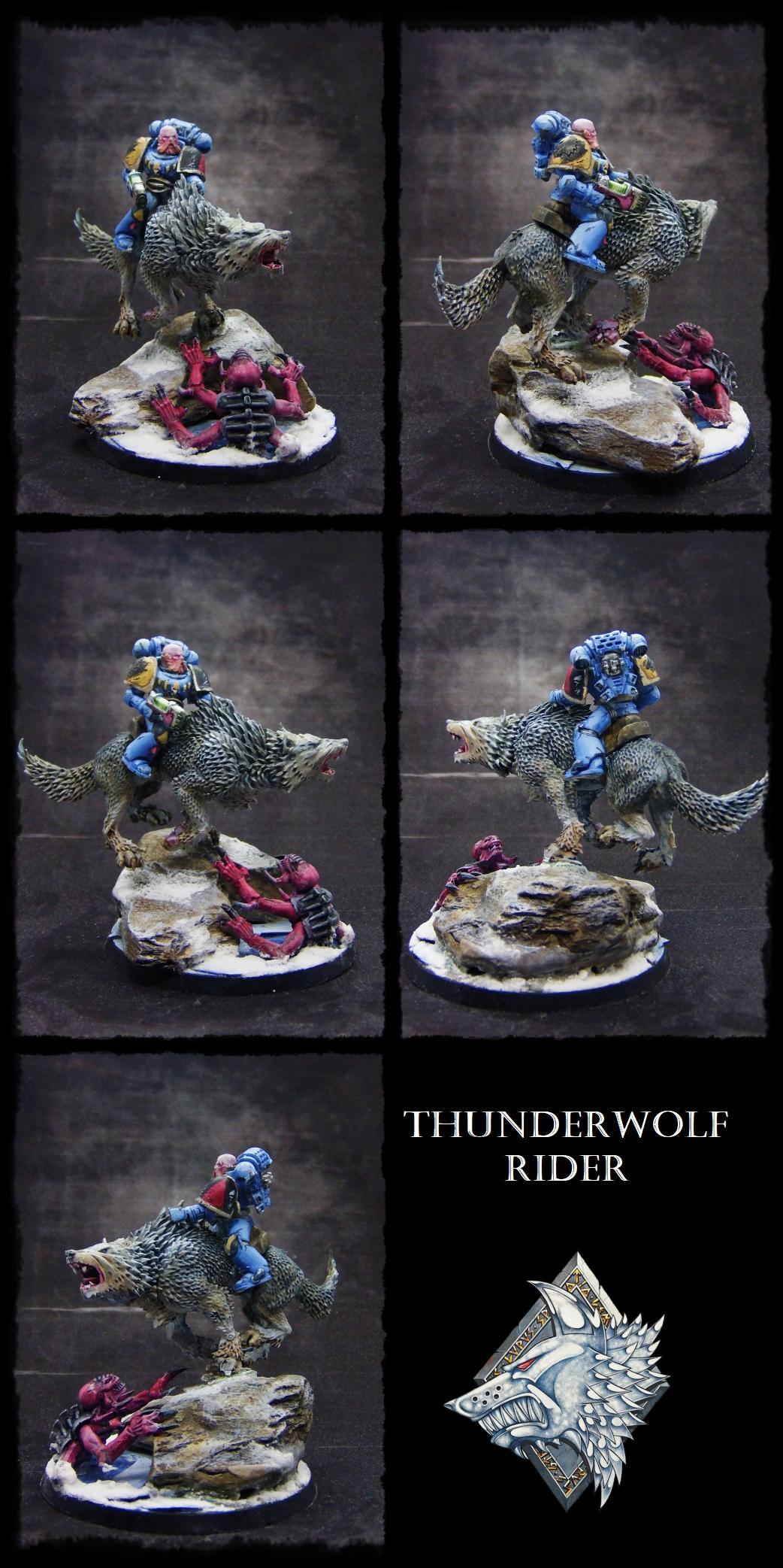 Cavalry, Genestealer, Space Marines, Space Wolves, Thunderwolf, Warhammer 40,000
