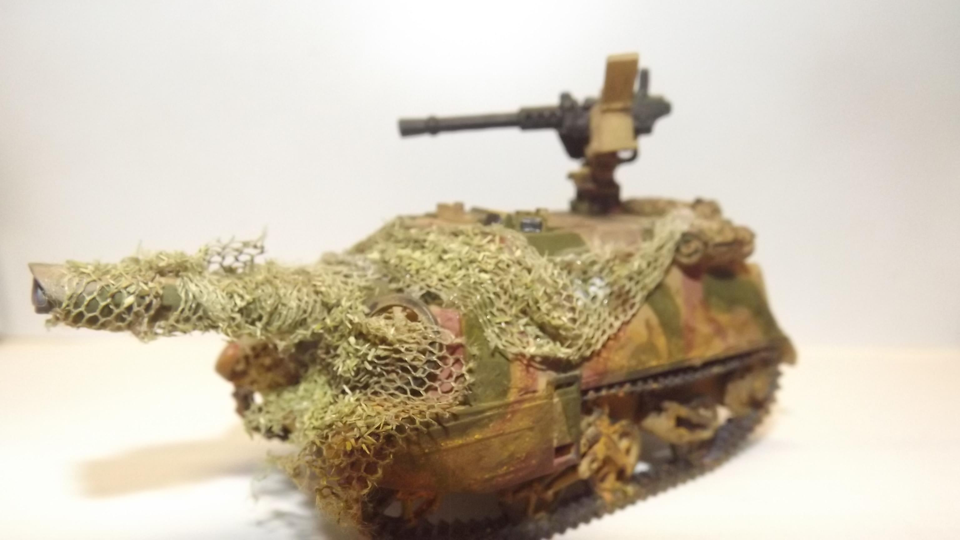 Brengun Carrier, Conversion, Imperial Guard, Light Vehicle, Remote Weapons Stataion, Tamiya, Tank Destryoer, Victoria Miniatures