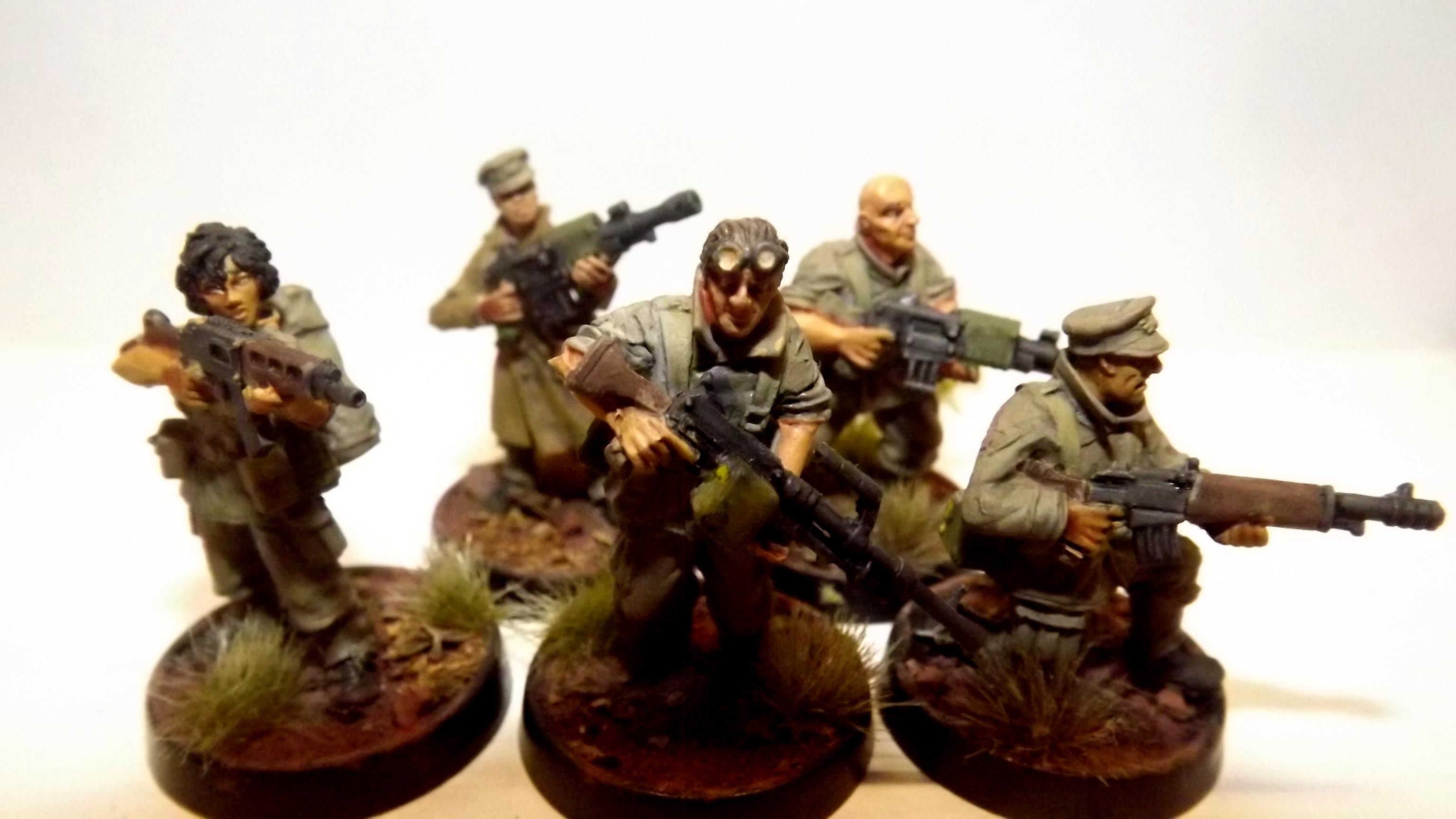 Law Enforcement, Machinegun, Militia, Police, Security Team, Suppression, Victoria Miniatures