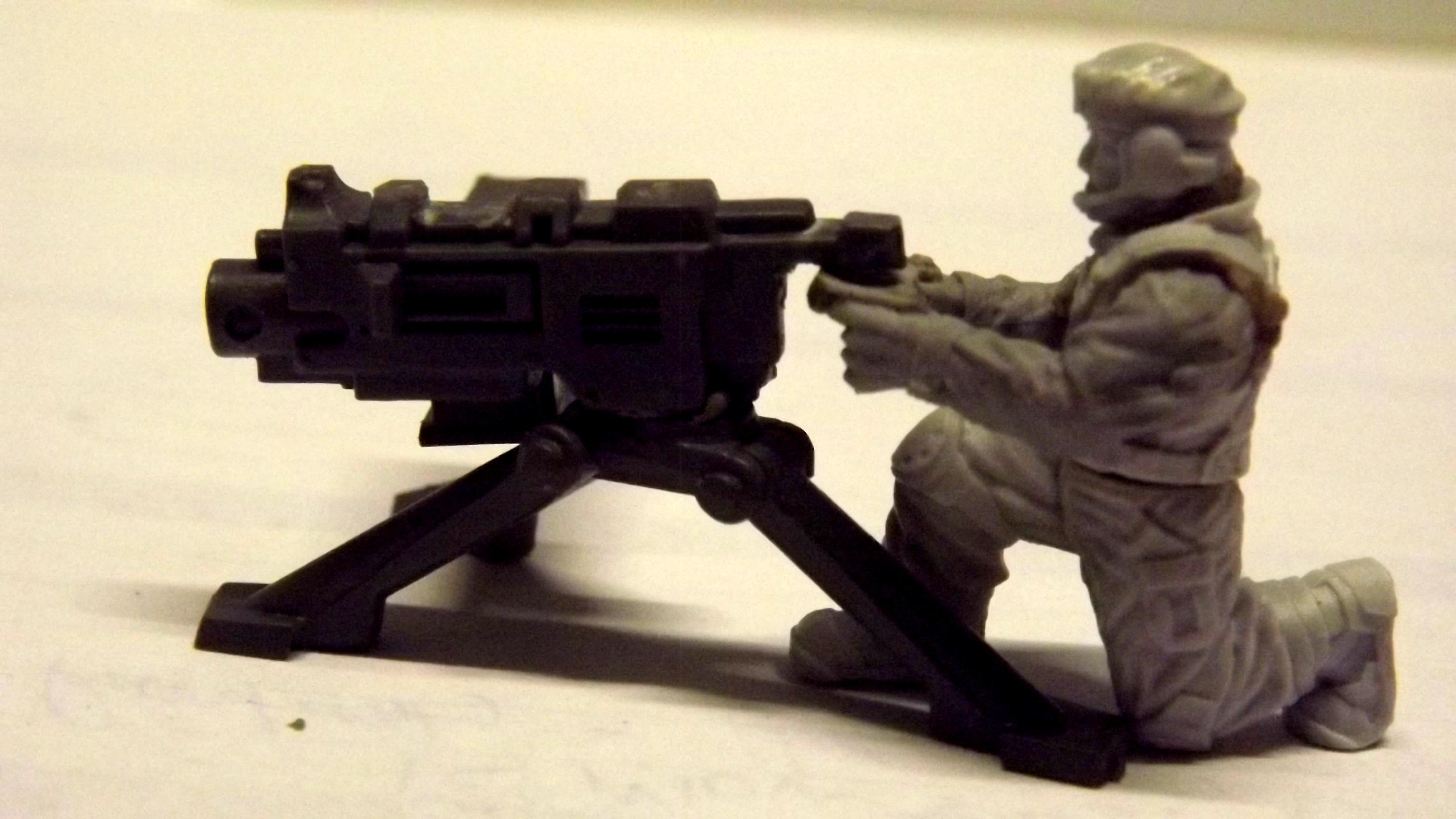 Anvil Industry, Conversion, Heavy Bolter, Imperial Guard, Tripod
