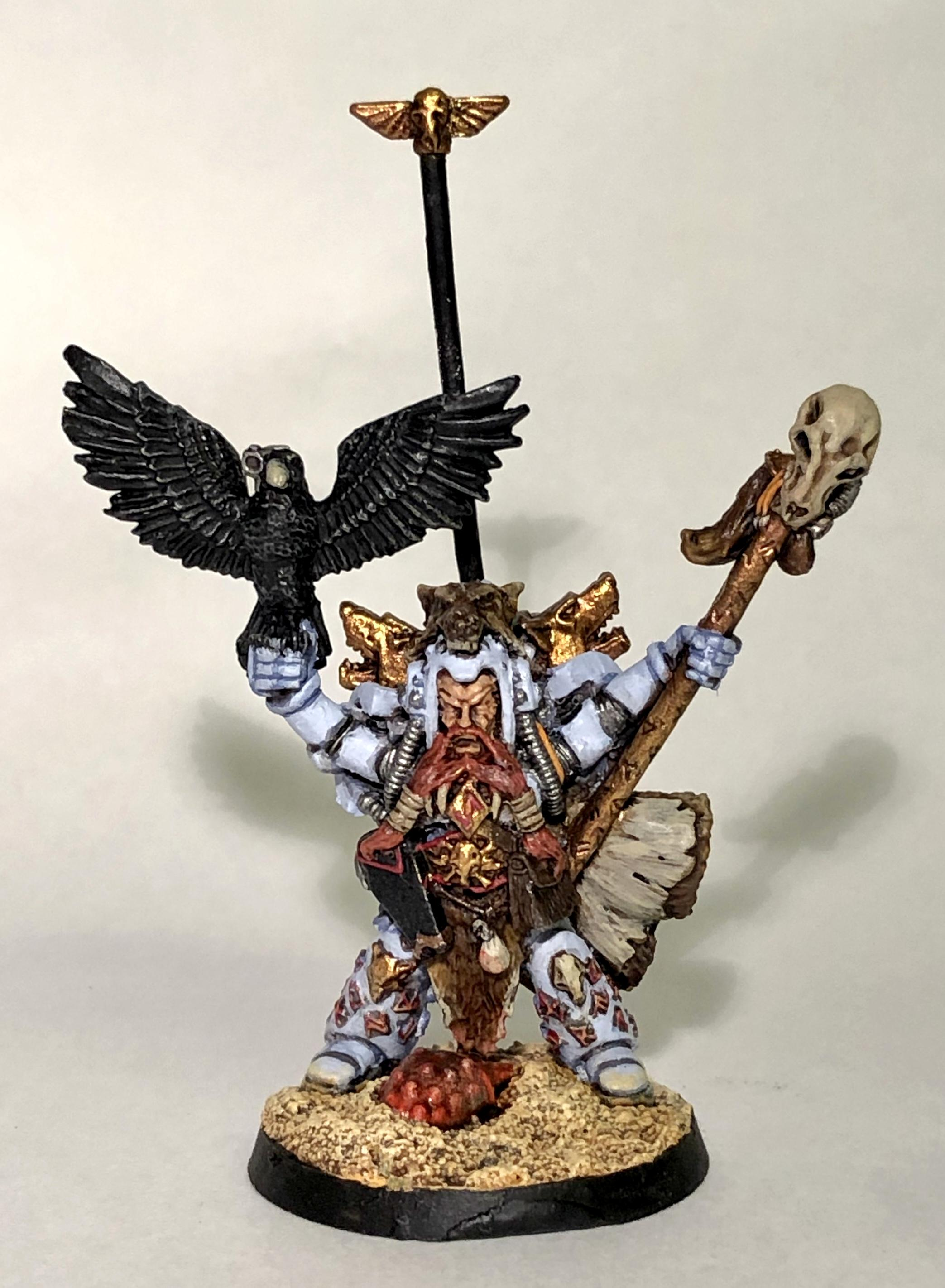 2nd Edition, Njal Stormcaller, Space Marines, Space Wolves, Warhammer 40,000