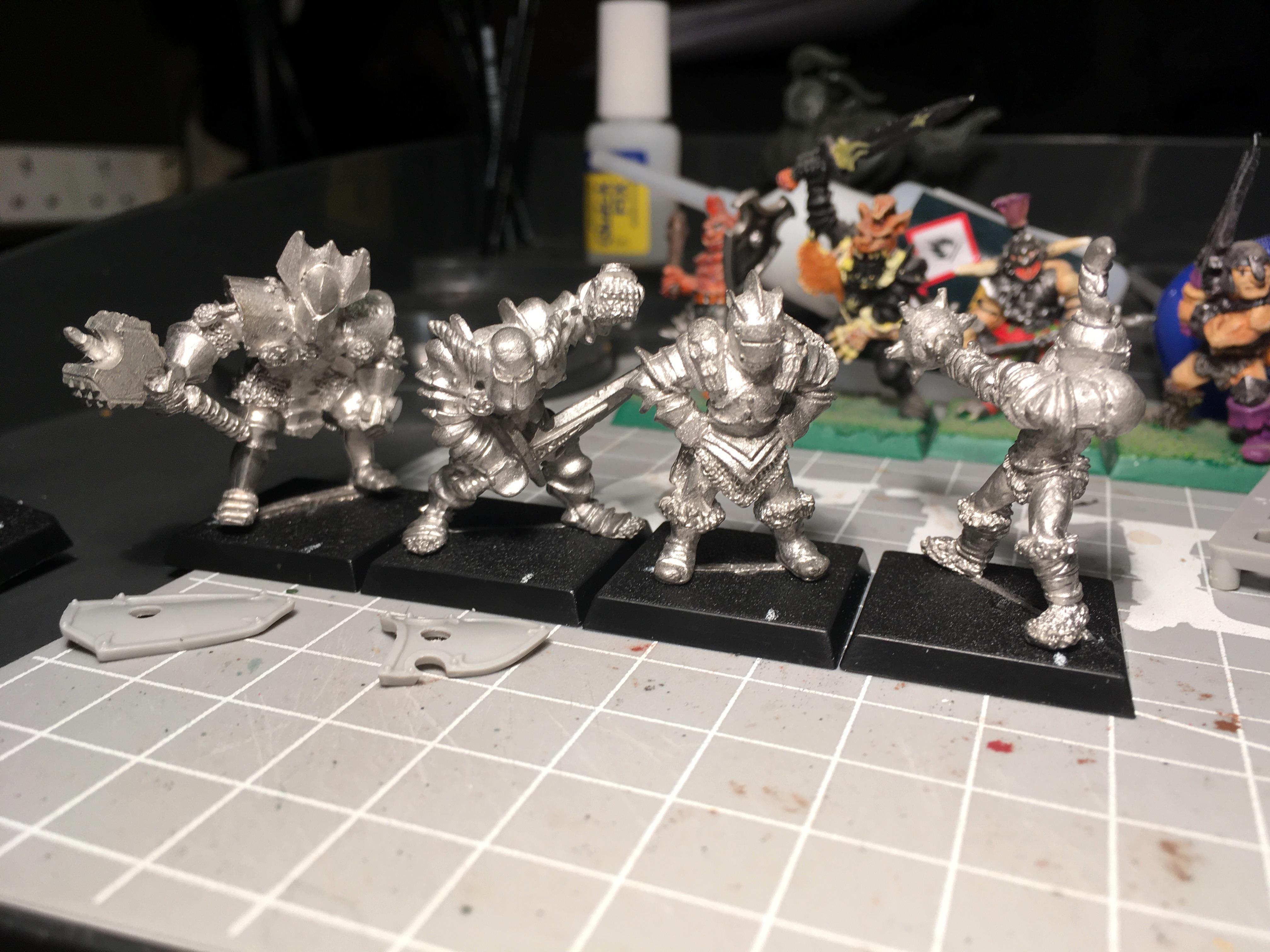 Chaos, Chaos Marauder, Chaos Thug, Chaos Warrior, Work In Progress