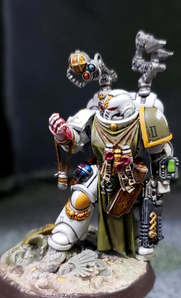 Apothecary, Raptors, Space Marines, The19thlegion, Warhammer 40,000