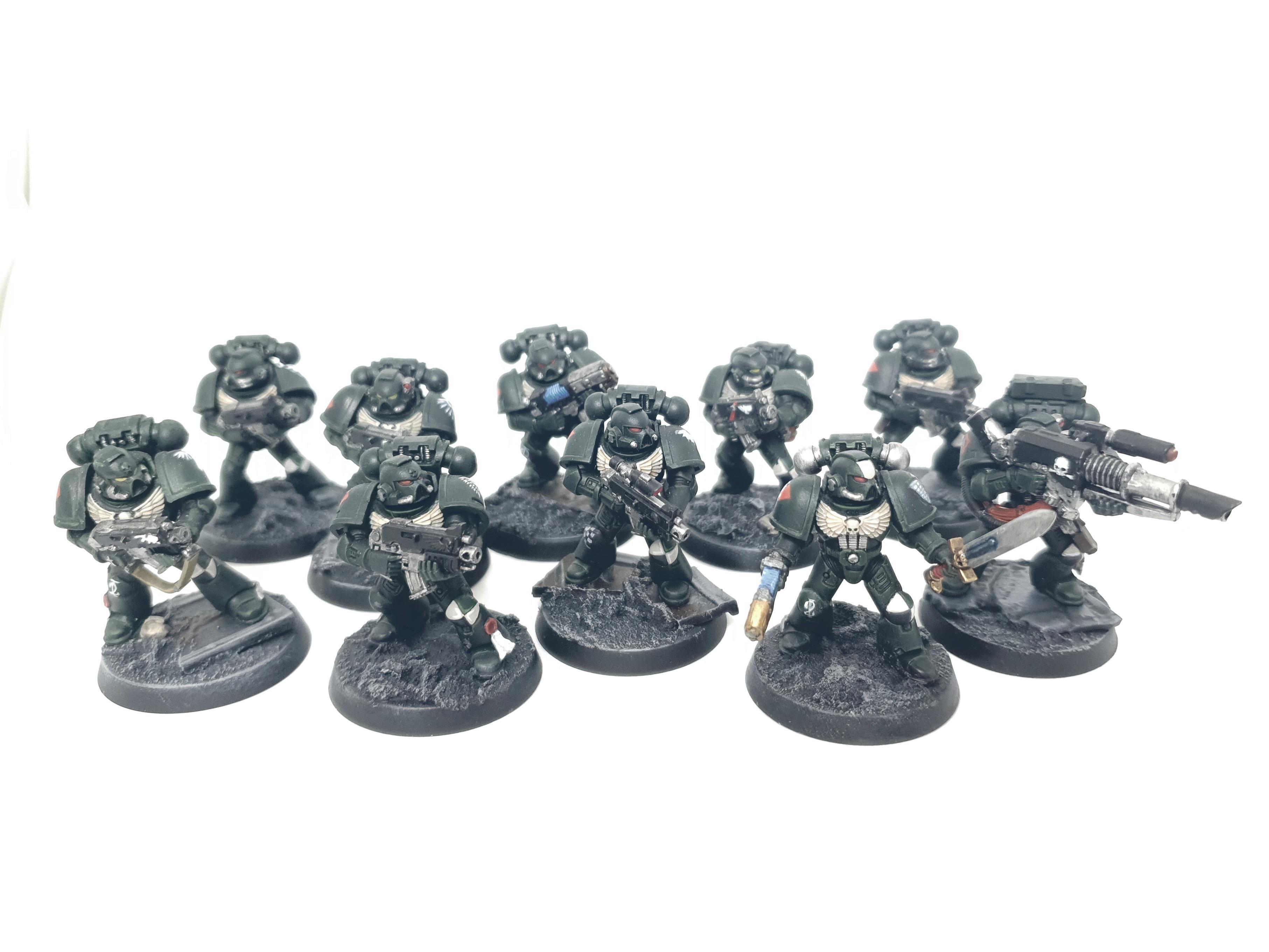 1st, 5th, Adeptus, Angel, Astartes, Company, Dark, First, Imperium, Legion, Space, Space Marines, Squad, Tactical, Warhammer 40,000, Warhammer Fantasy