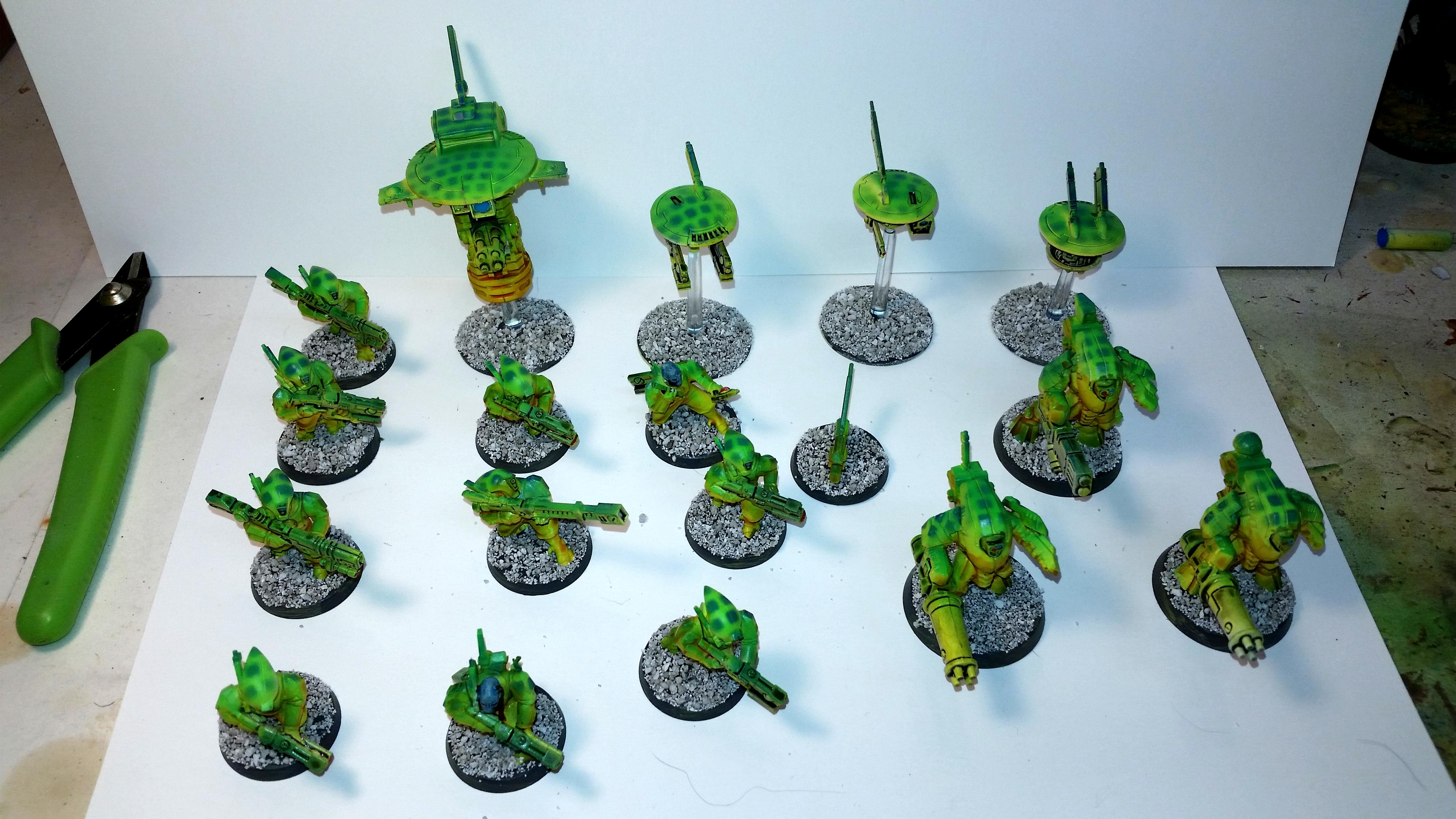 Tau, Poison frogs