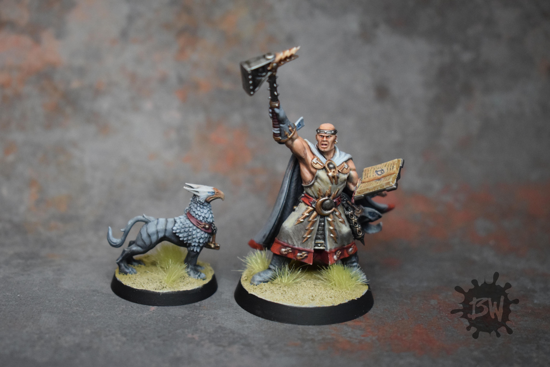 Age Of Sigmar, Excelsior Warpriest, Order, Stormcast, Warhammer Fantasy