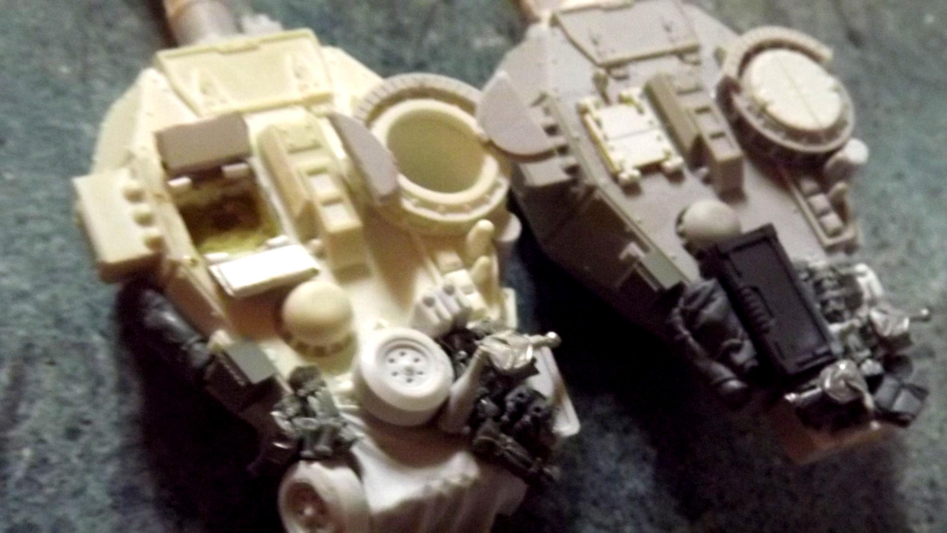 Mortian Tank, Stowage, The Assault Group, Victoria Miniatures
