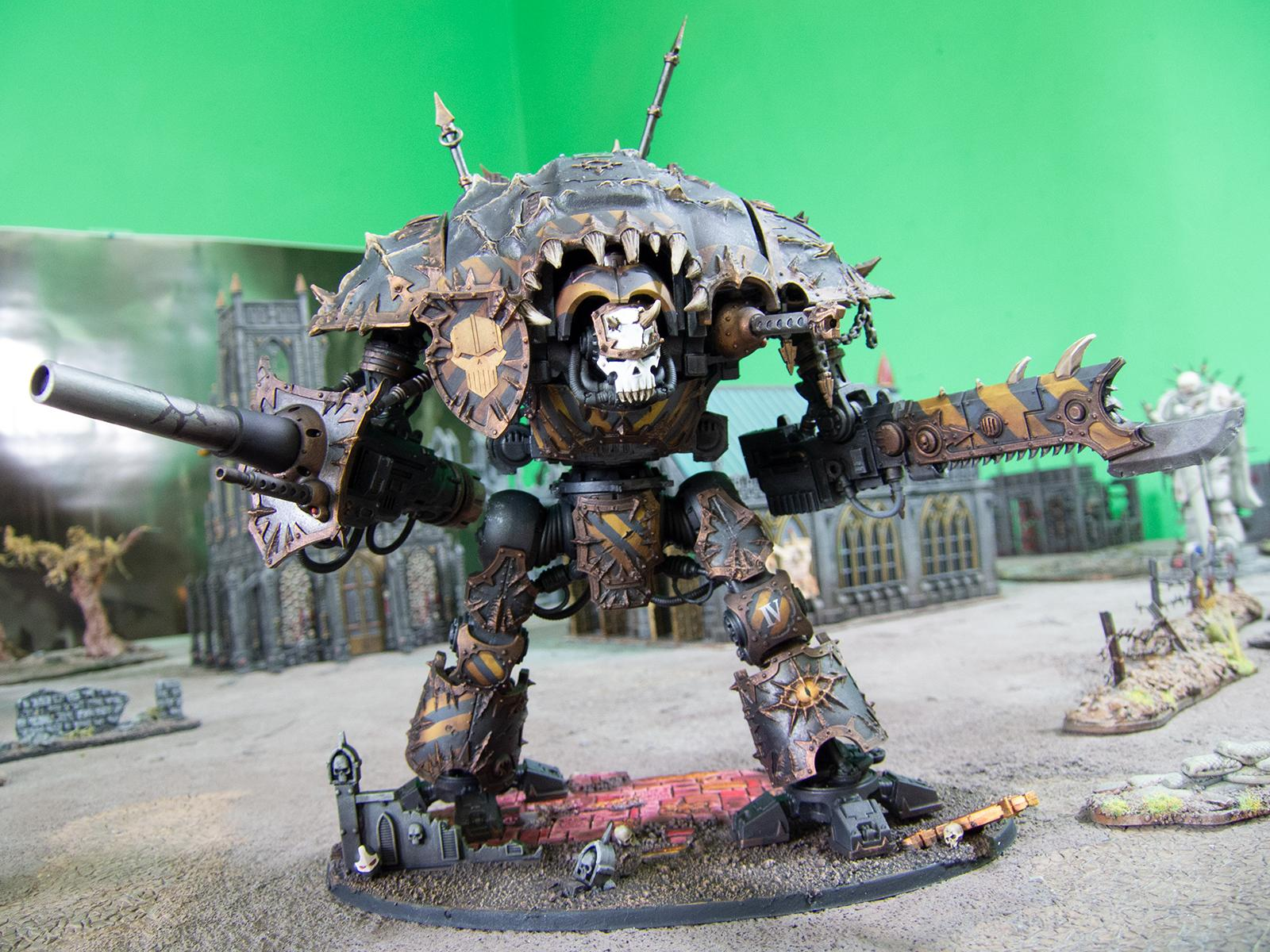 Chaos, Chaos Space Marines, Iron Warriors, Knights