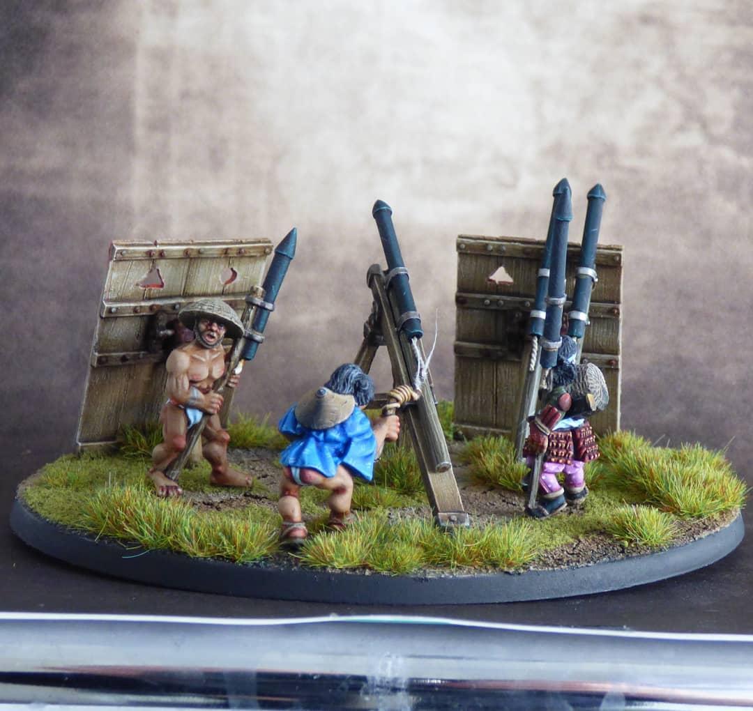 Historical, Japanese, Rocket, Samurai, Siege