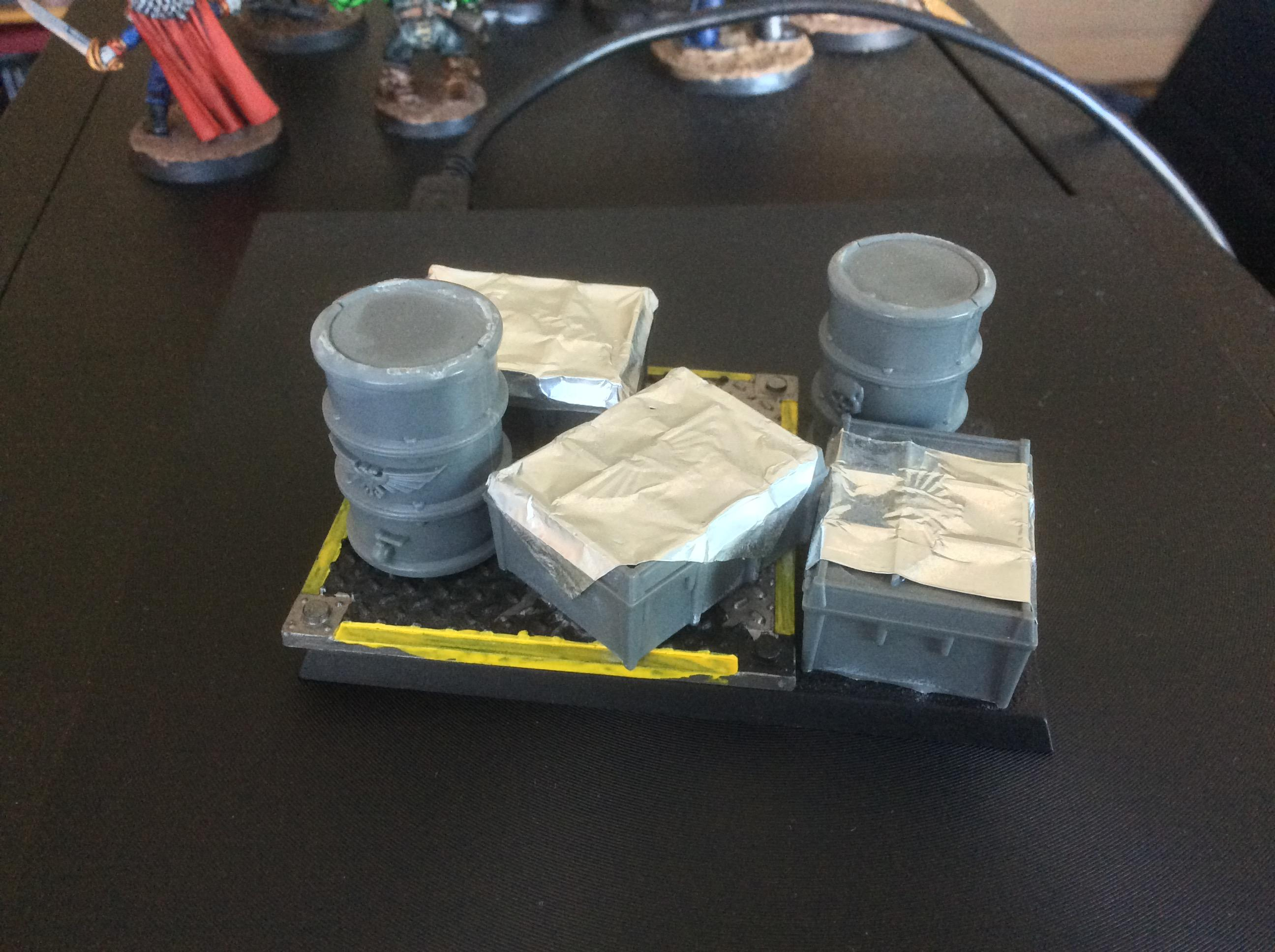 Supplies objective marker (WIP)