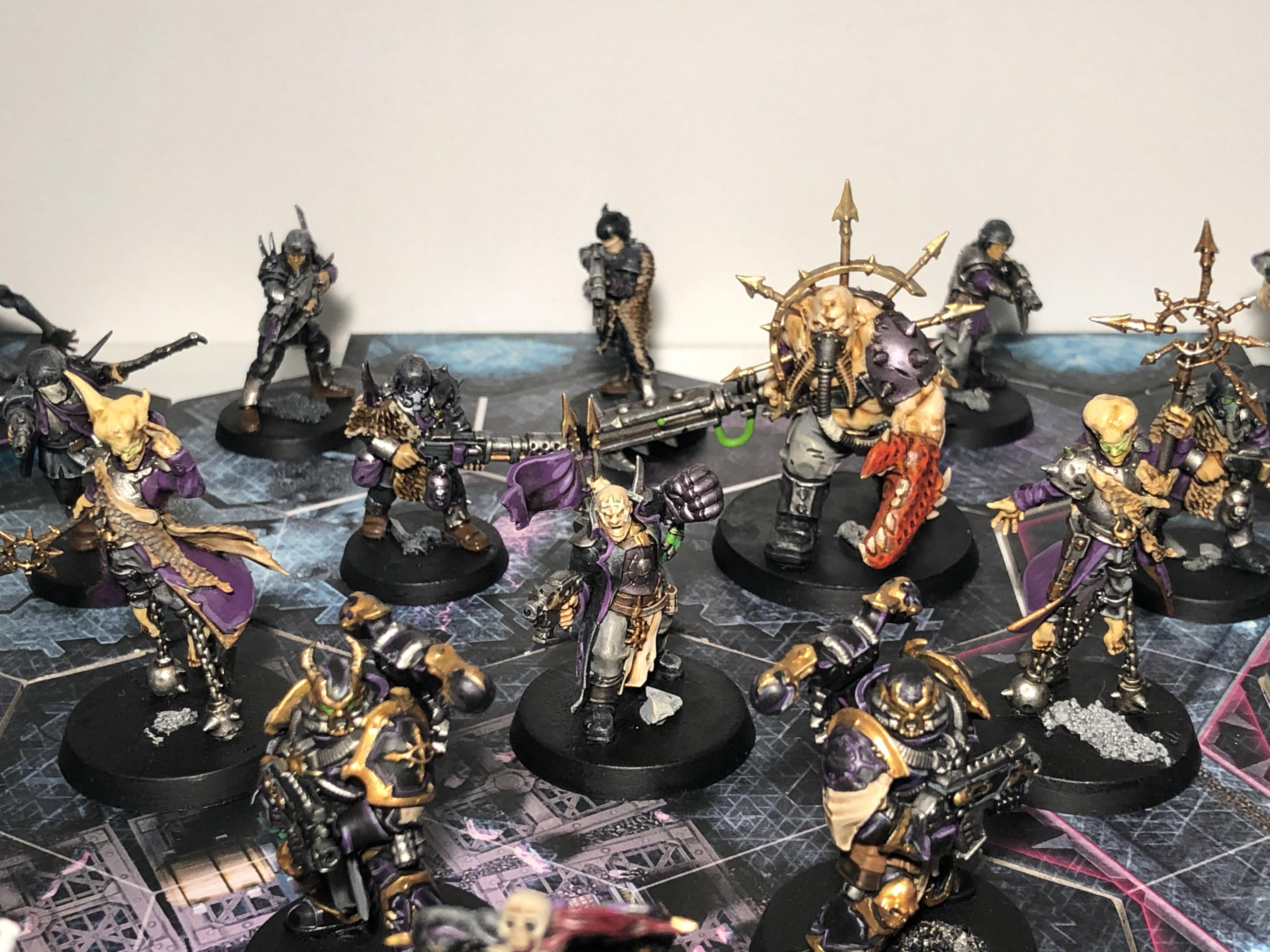 Blackstone Fortress, Chaos Space Marines, Servants Of The Abyss, Traitor Command, Traitor Guard, Warhammer 40,000