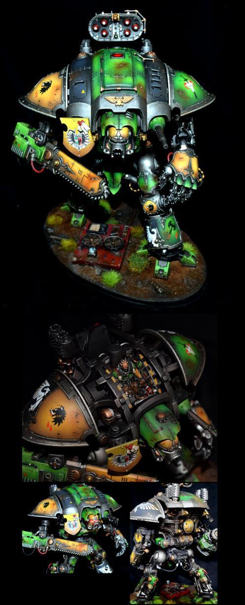 Cadmus, Cockpit, Eyes, Green, Imperial Knight, LED