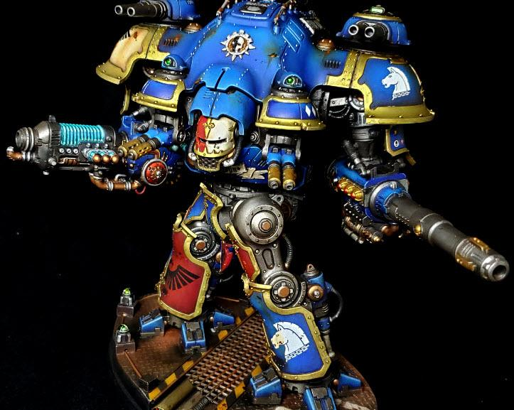 Blue, Cockpit, Imperial Knight Castellan, LED, Terryn
