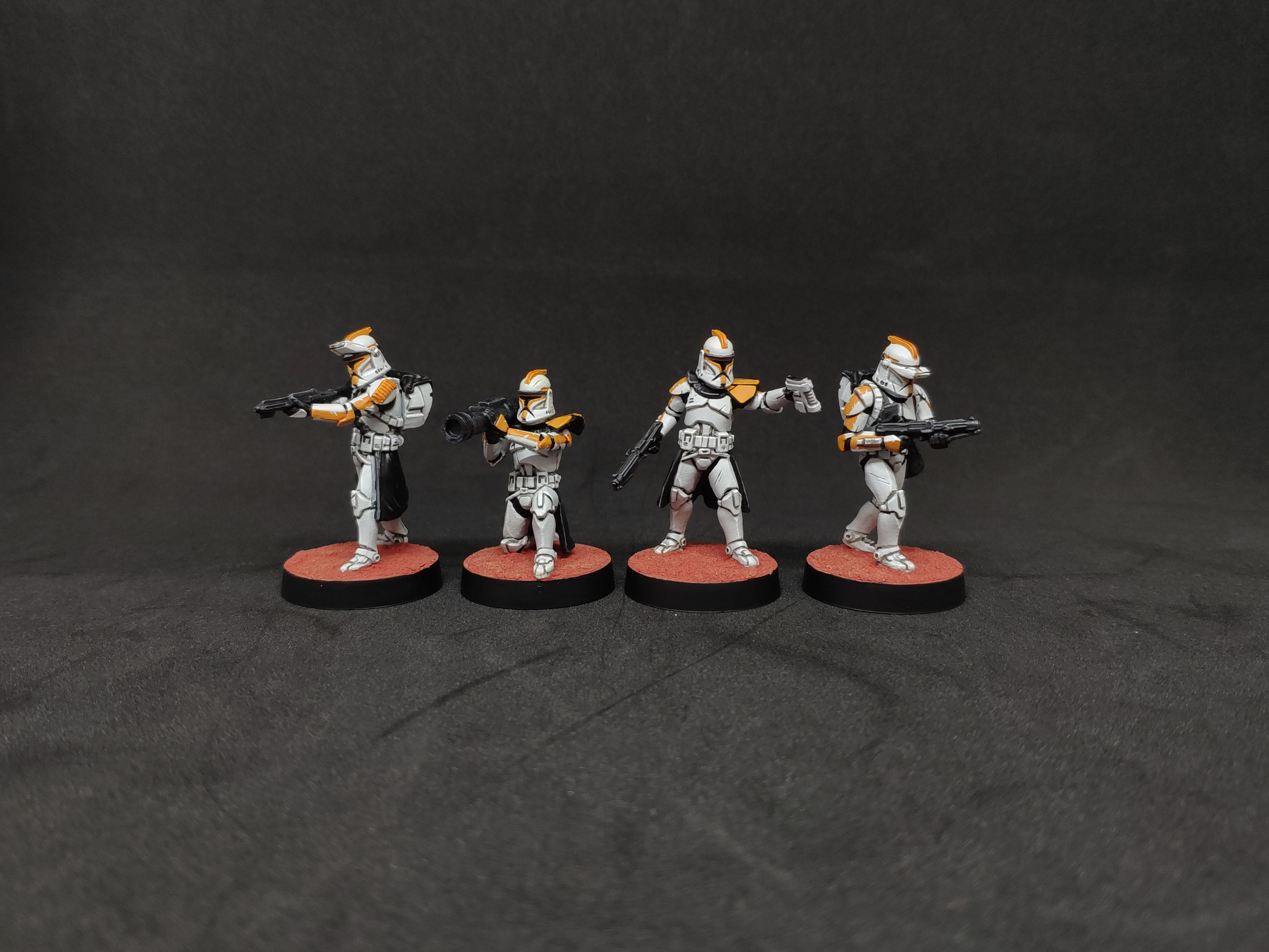 Clone Troopers, Legion, Phase I, Republic, Star Wars
