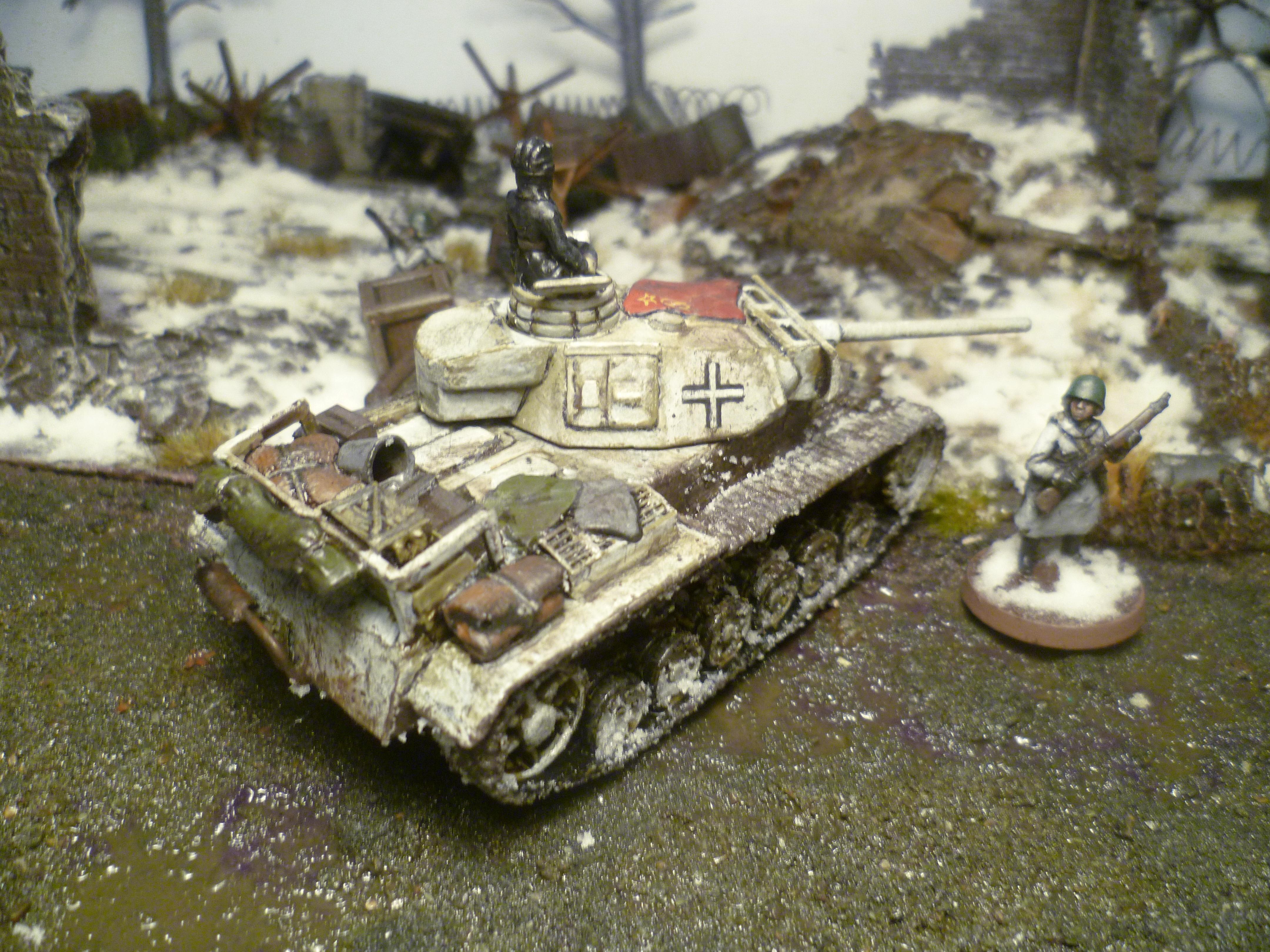 Captured, Conversion, Germans, Iii, Panzer, Soviet, Tank