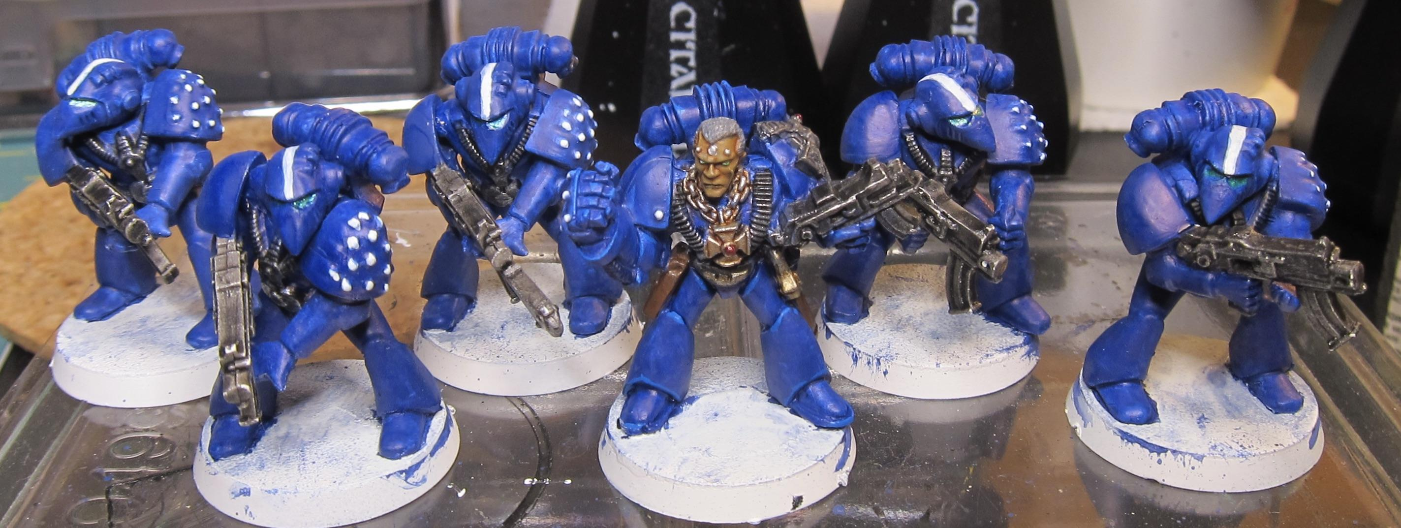 Rogue Trader, Space Marines