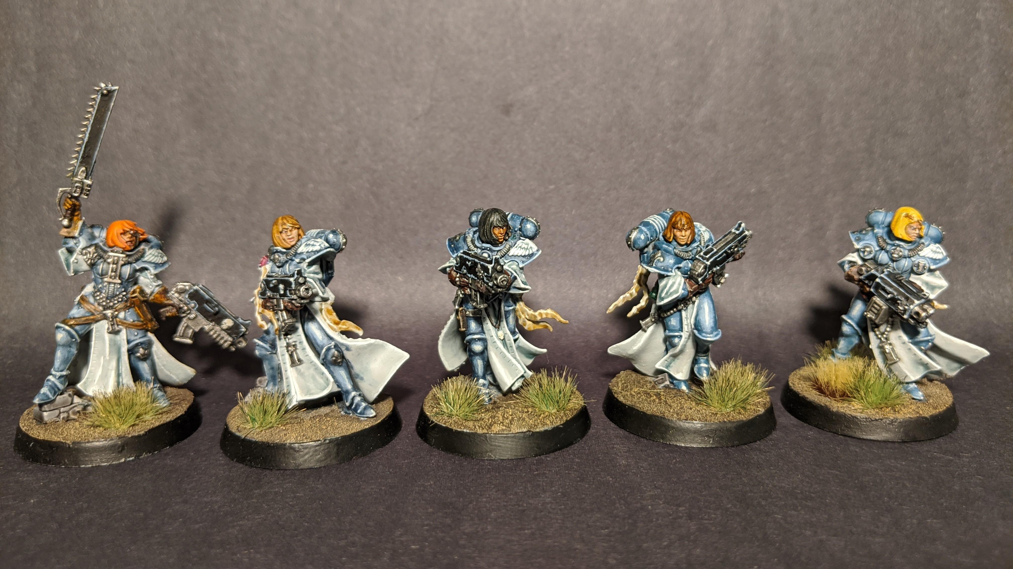 Boltgun, Sisters Of Battle, White Ink