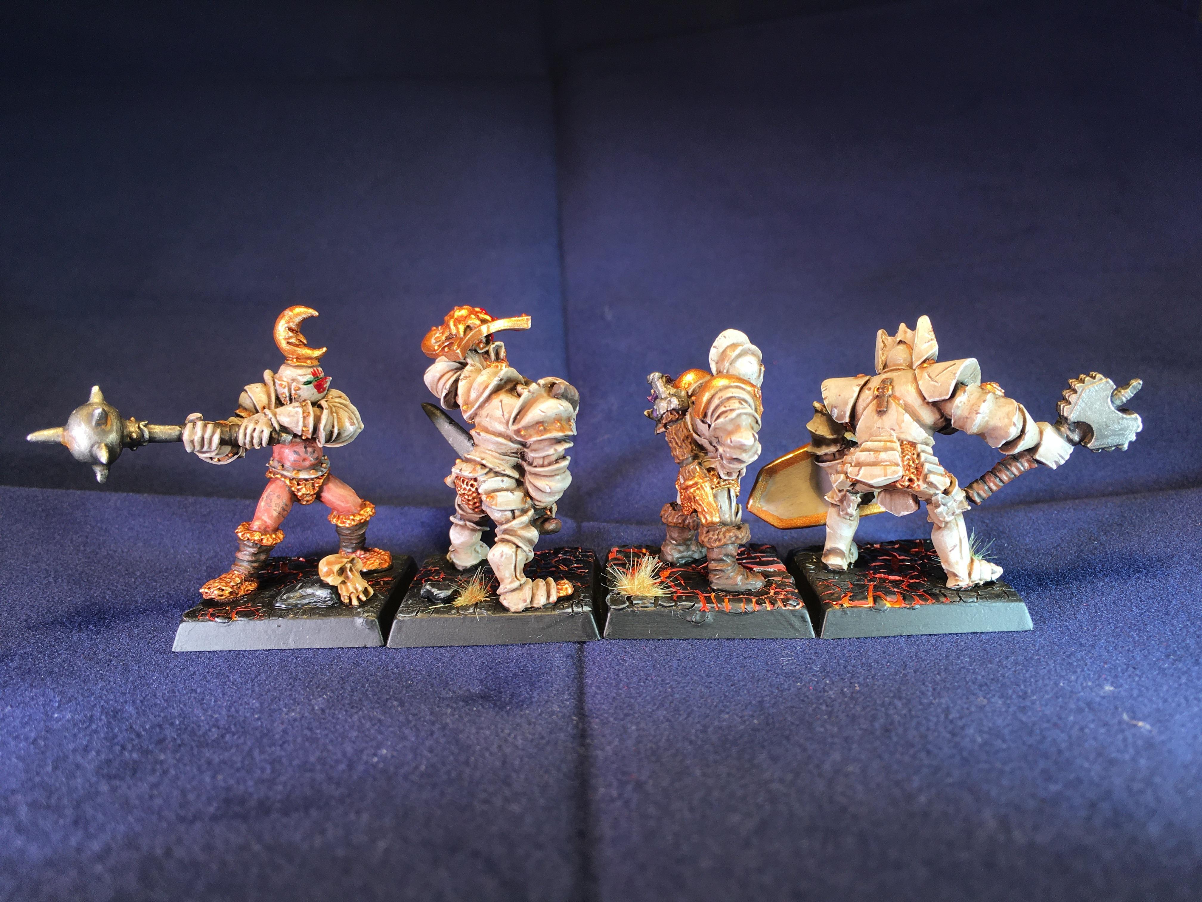 Chaos, Chaos Marauder, Chaos Thug, Chaos Warrior, Pip