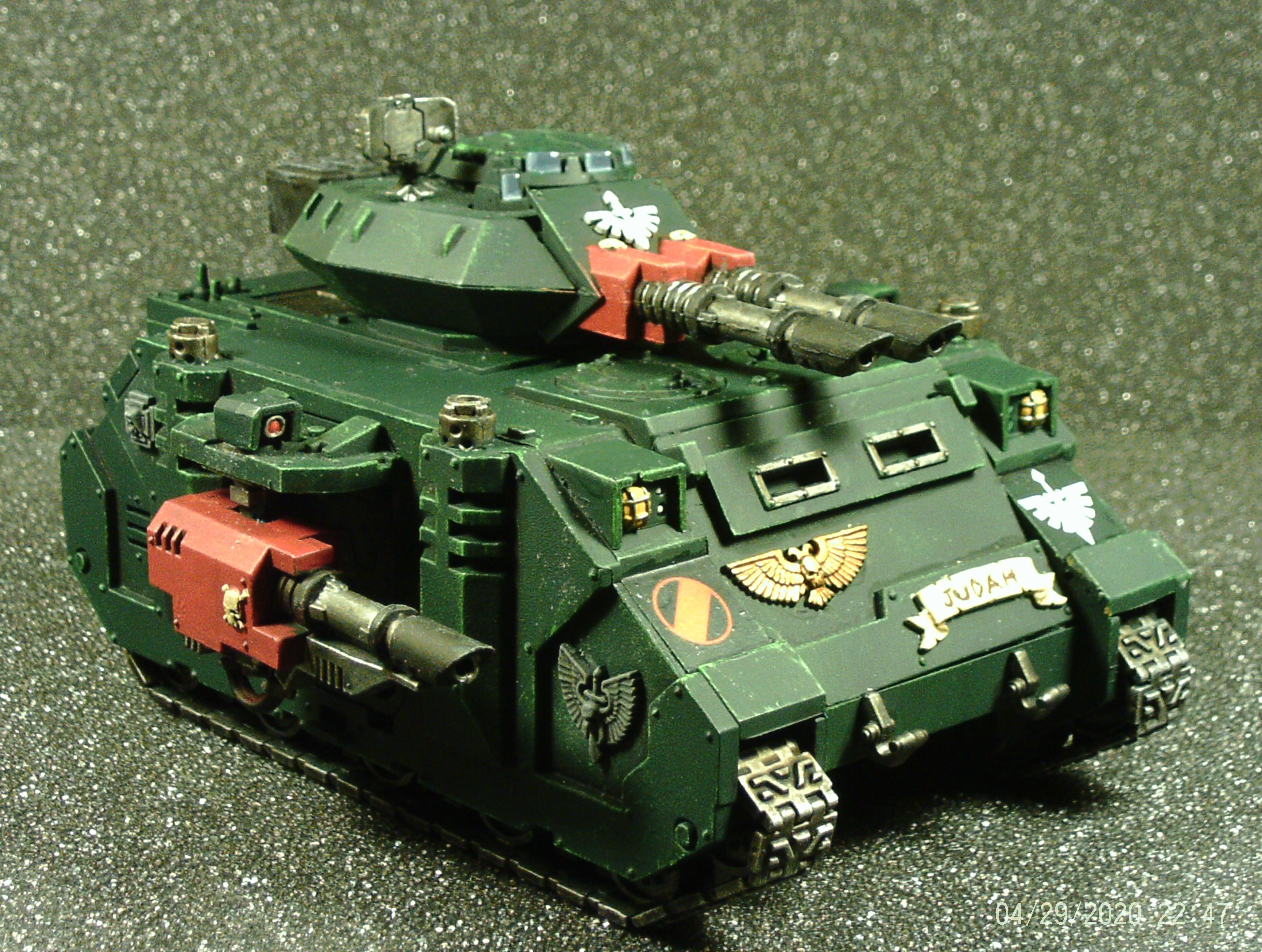 Angel, Annihilator, Dark, Lascannon, Laser, Predator, Rhino, Space, Space Marines, Tank, Vehicle