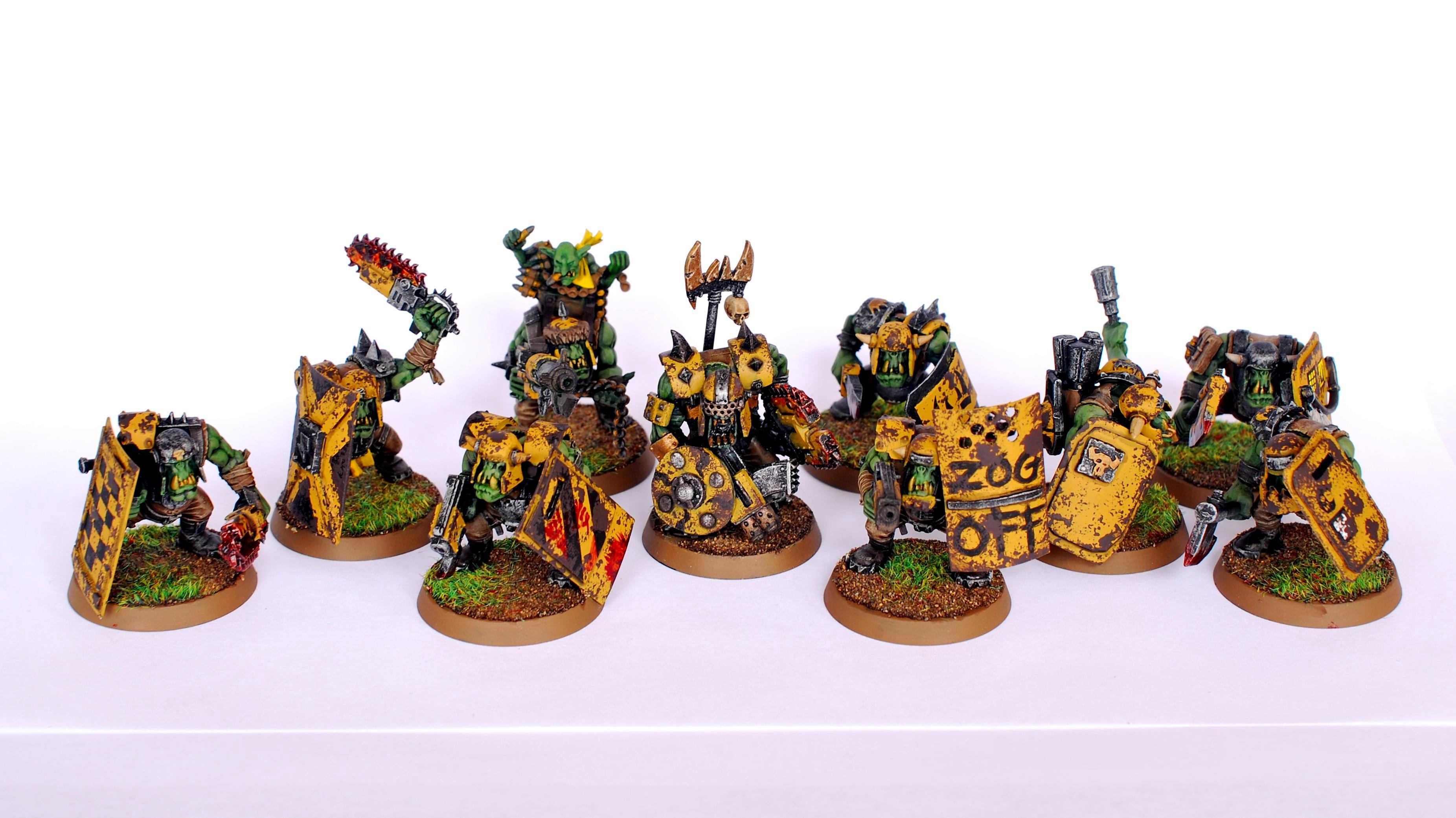 Ard Boyz, Bad Moons, Orks