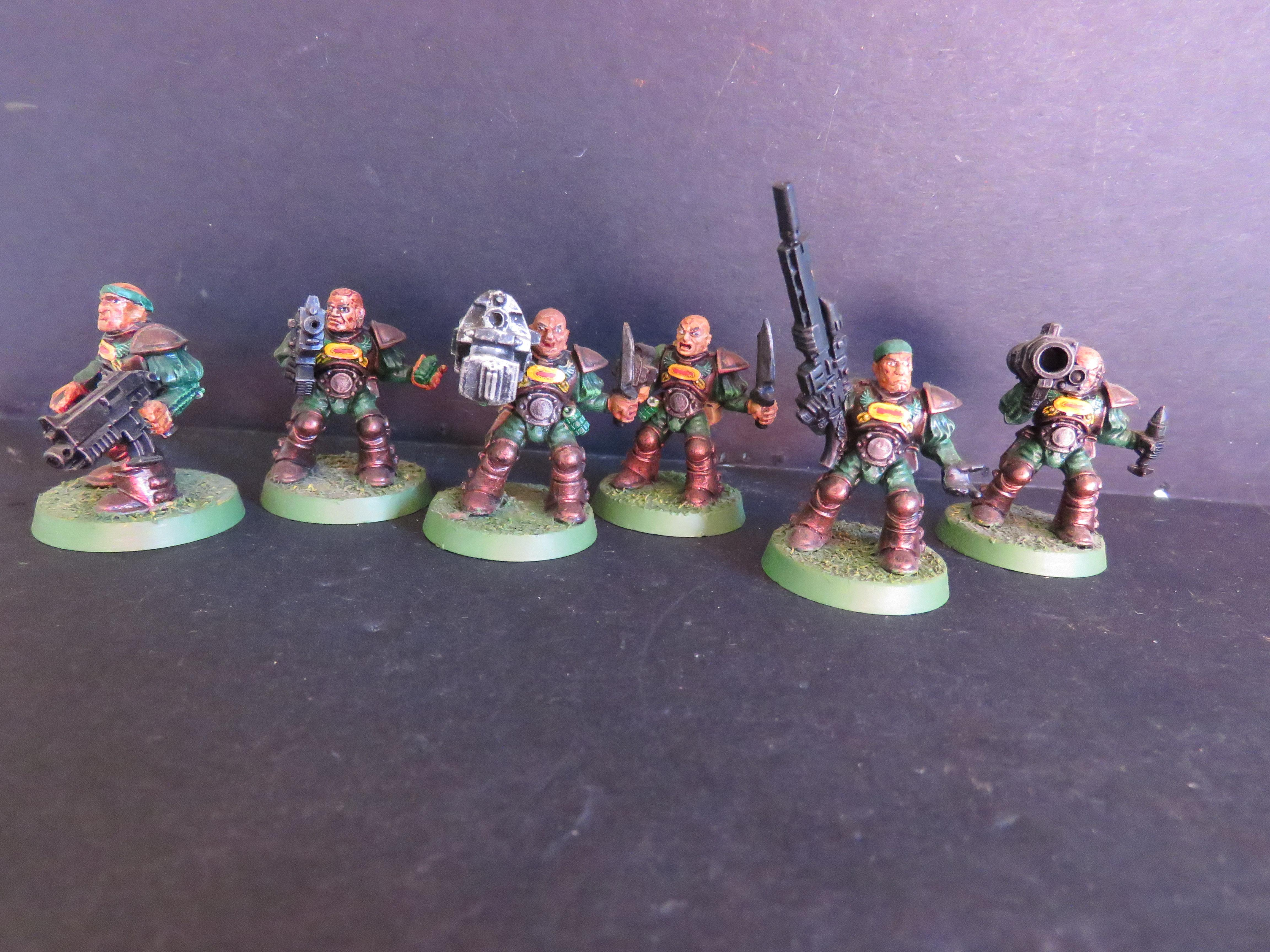 Old-school, Oldhammer, Plastic, Retro, Rogue Trader, Scouts, Space Marines, Warhammer 40,000