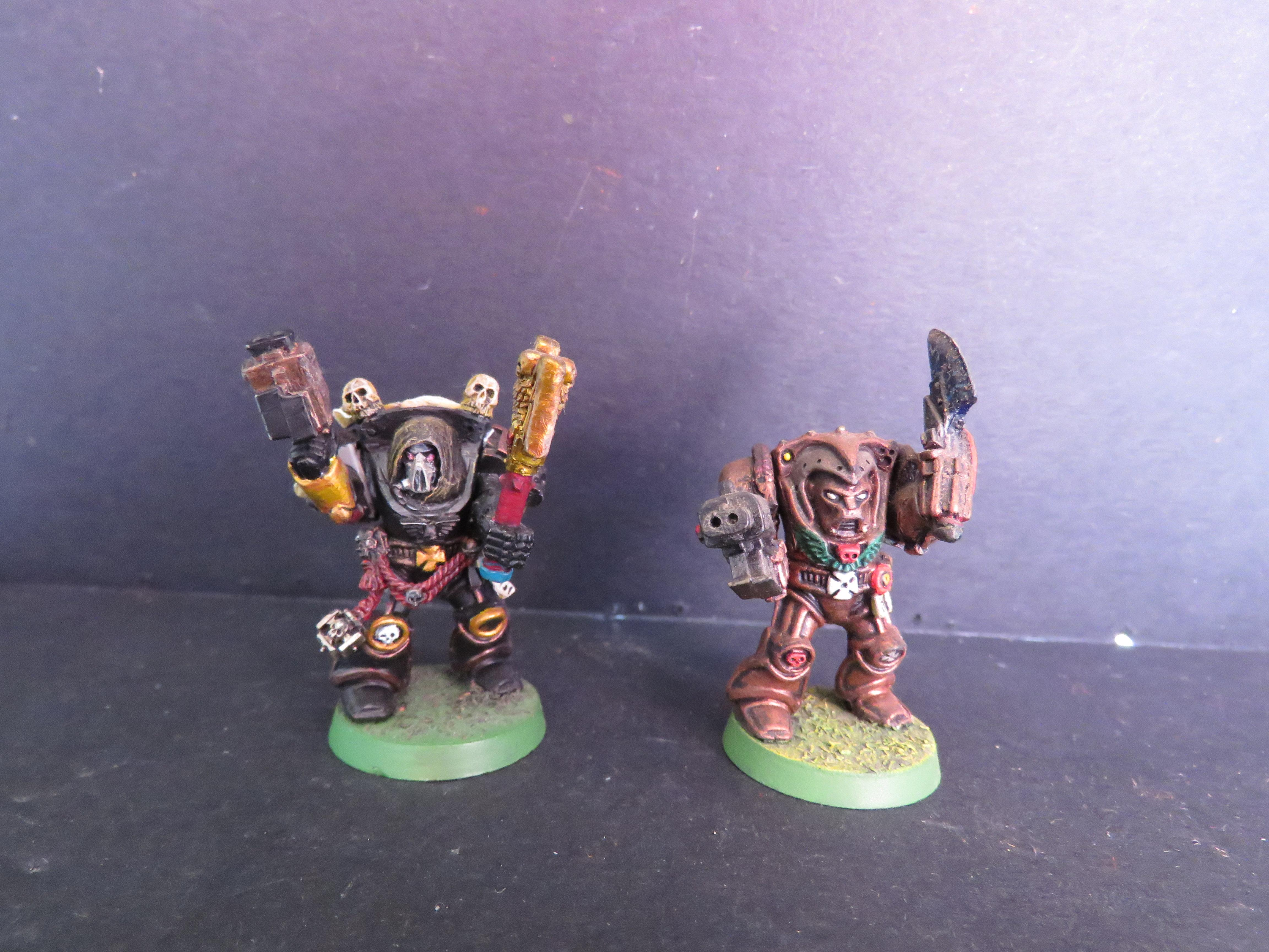 Maines, Old-school, Retro, Warhammer 40,000