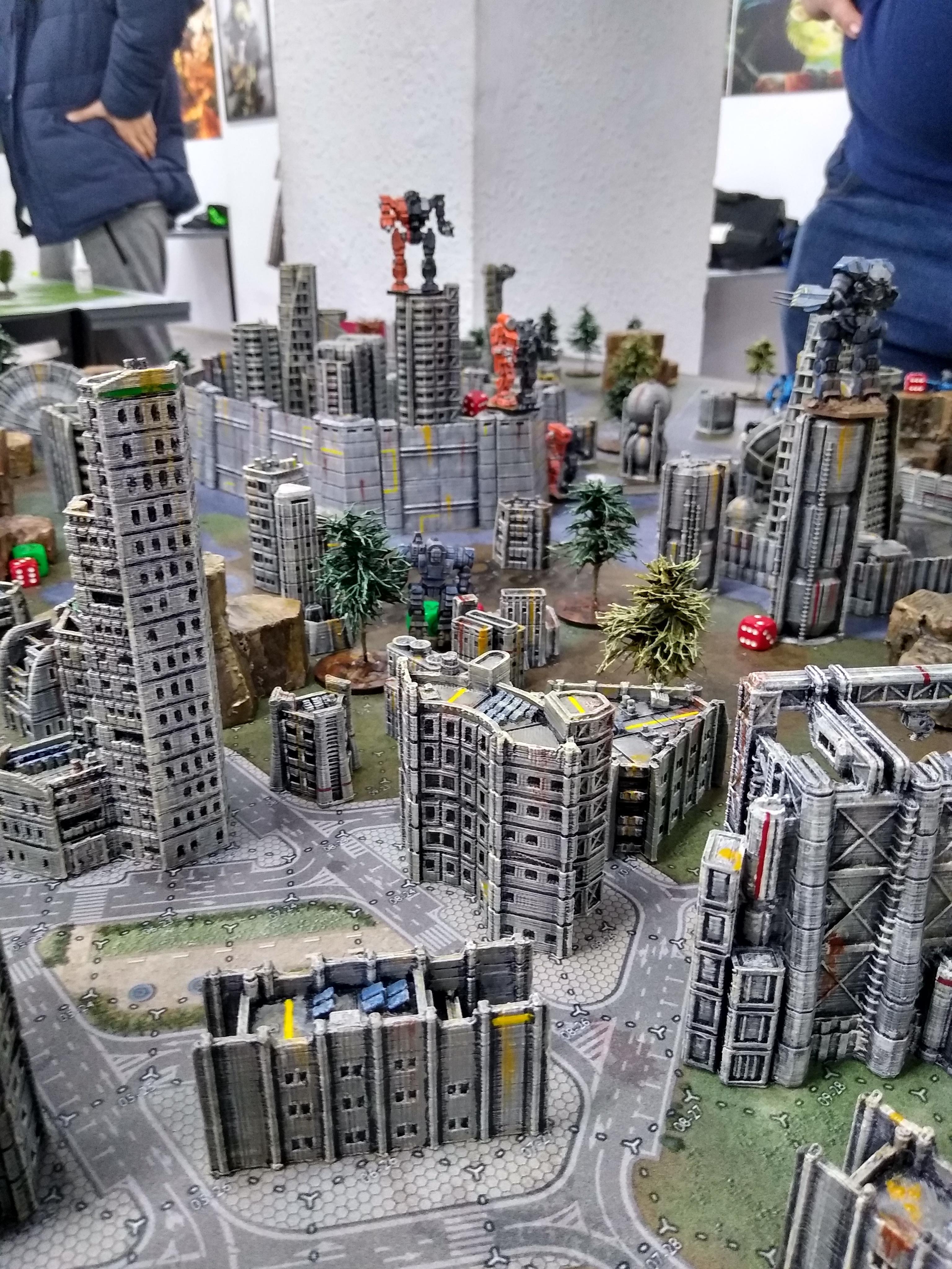 Battletech, City, Terrain