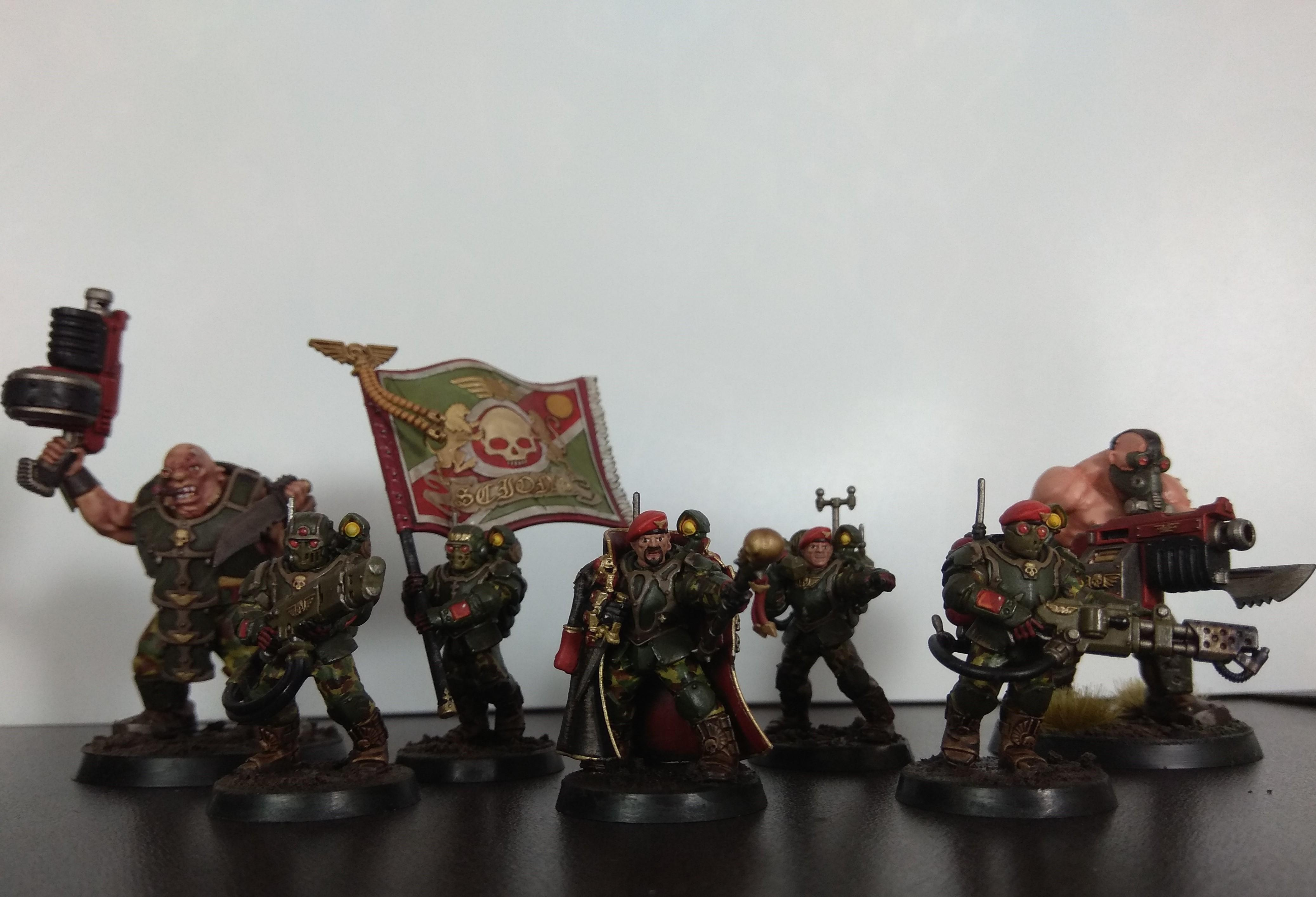 Command Squad, Imperial Guard