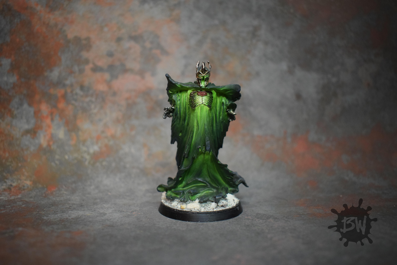 Bw, Commissn, Dark Powers Of Dol Guldur, Games Workshop, Hobbit, Lord Of The Rings, Sauron The Necromancer