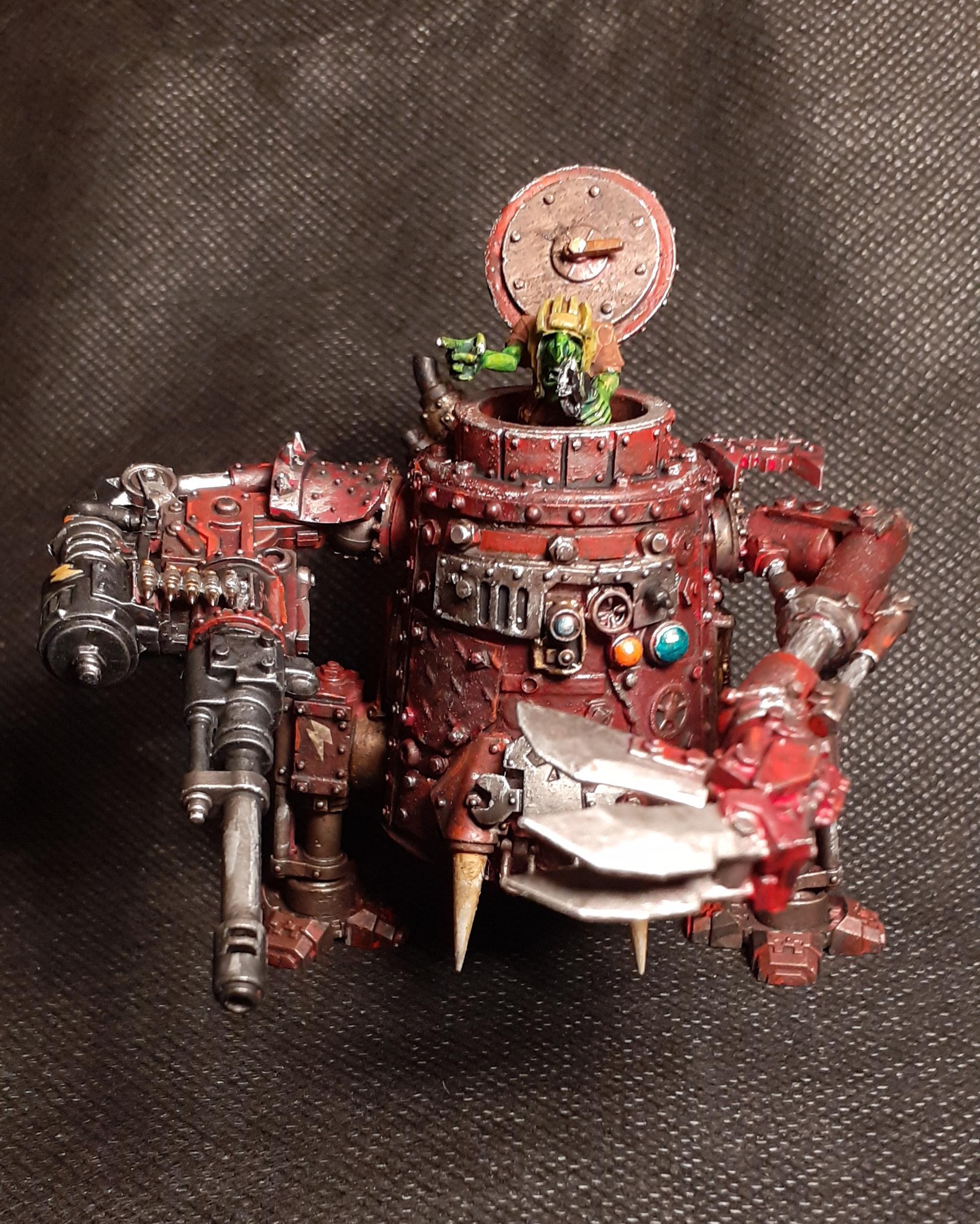 Conversion, Grots, Killa Kan, Kitbashed, Ork Conversions, Ork Coustom Made Vehicles, Orks, Orks Grots, Scratch Build, Warhammer 40,000