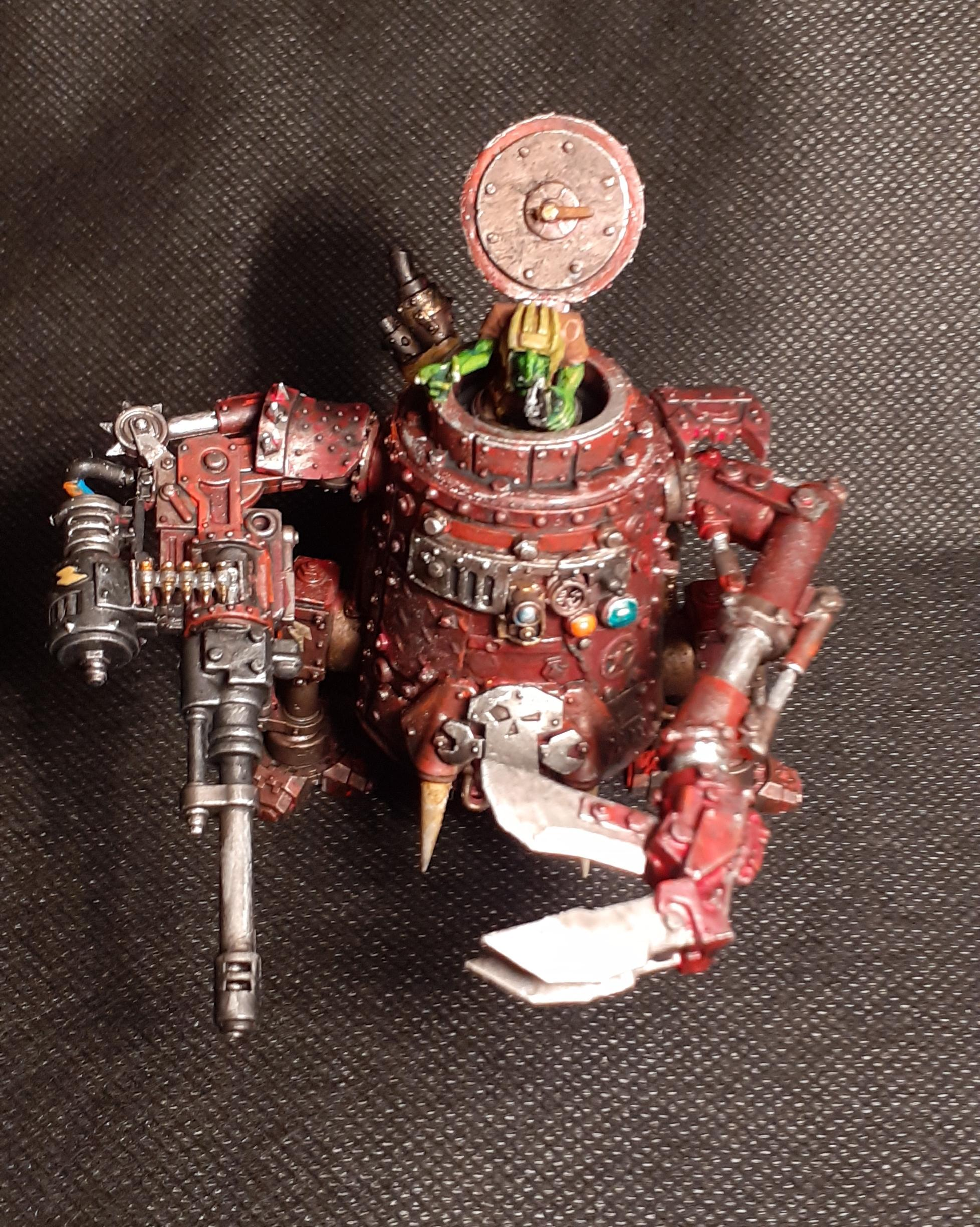 Conversion, Grots, Killa Kan, Kitbashed, Ork Conversions, Ork Coustom Made Vehicles, Orks, Orks Grots, Scratch Build, Warhammer 40,000