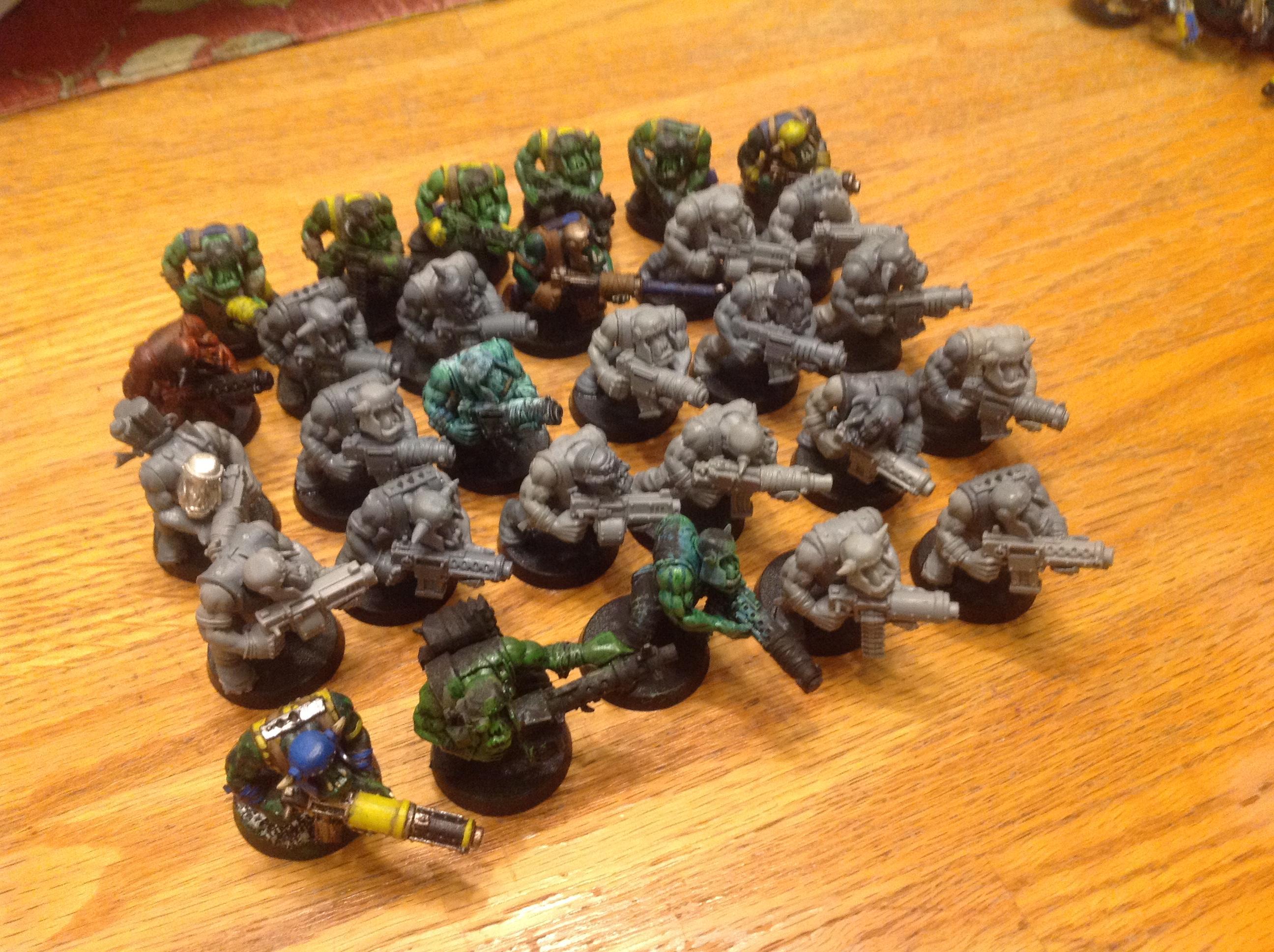 Boy, Orks, Shooty, Waaazag, Warhammer 40,000