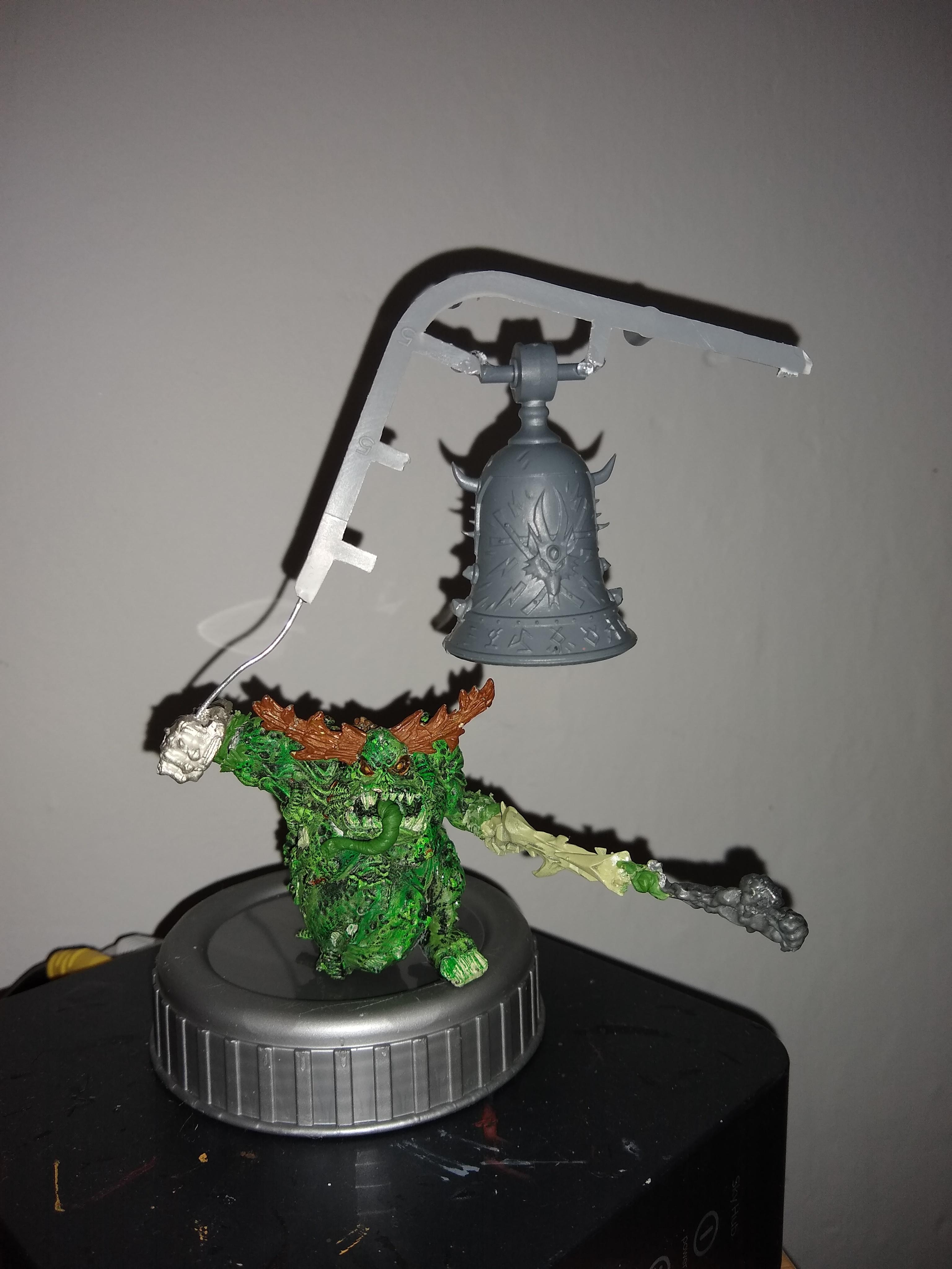 Oldhammer Great Unclean one with Doomsday bell